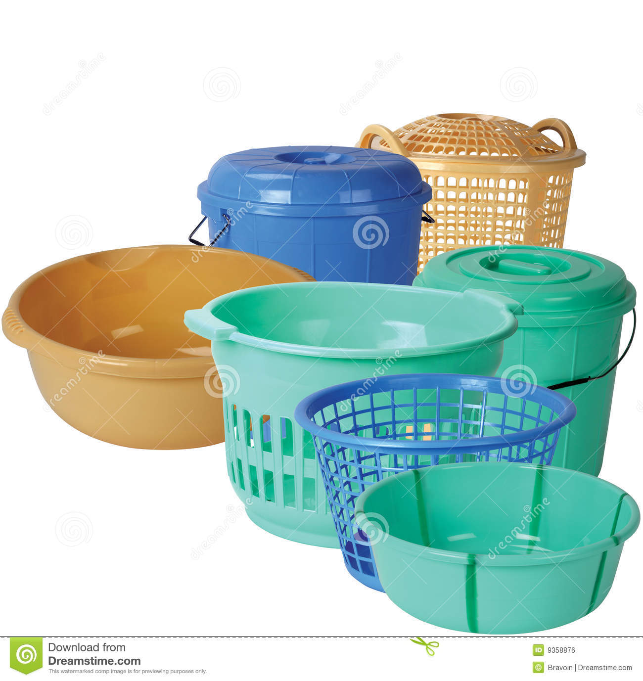 Plastic Kitchen Equipments Stock Photo Image Of Isolated