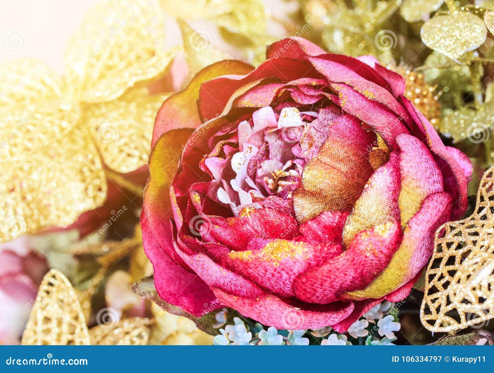 Plastic Lotus Flower Stock Image Image Of Nature Flower 106334797