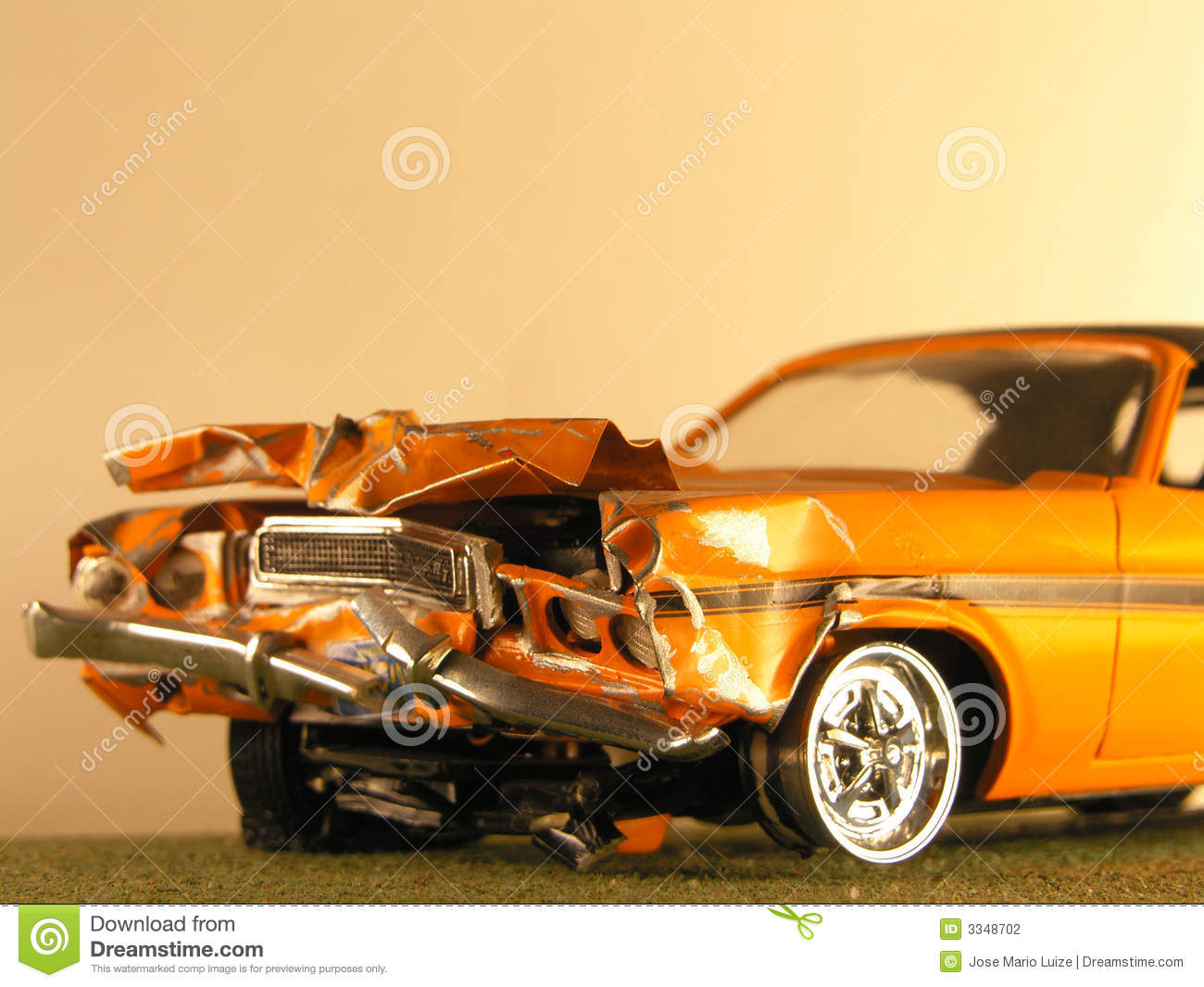Plastic Model Of A Muscle Car Stock Photo - Image of plastic ...