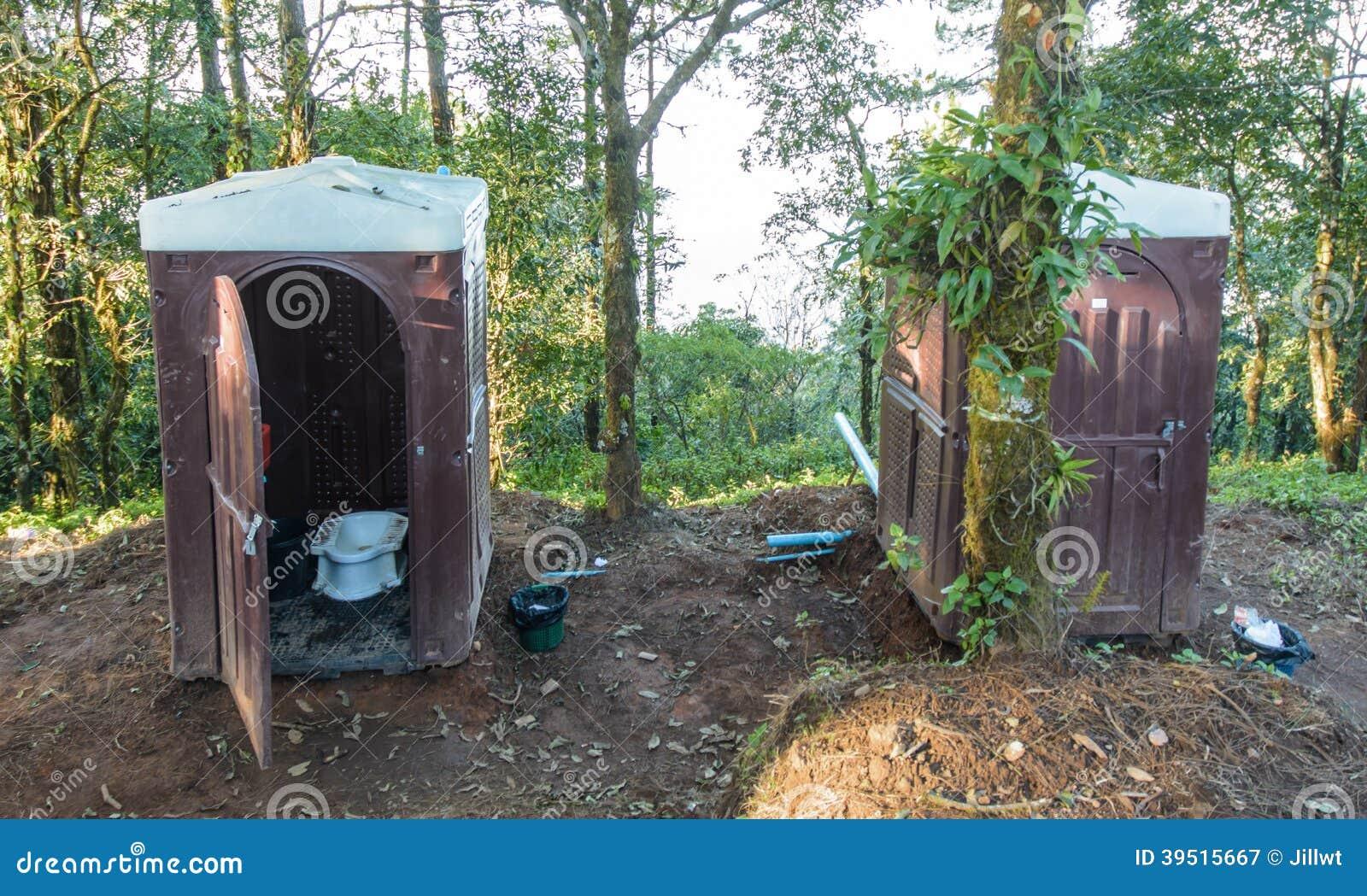 Plastic outdoors toilet stock photo image 39515667 - Mini commode plastique ...