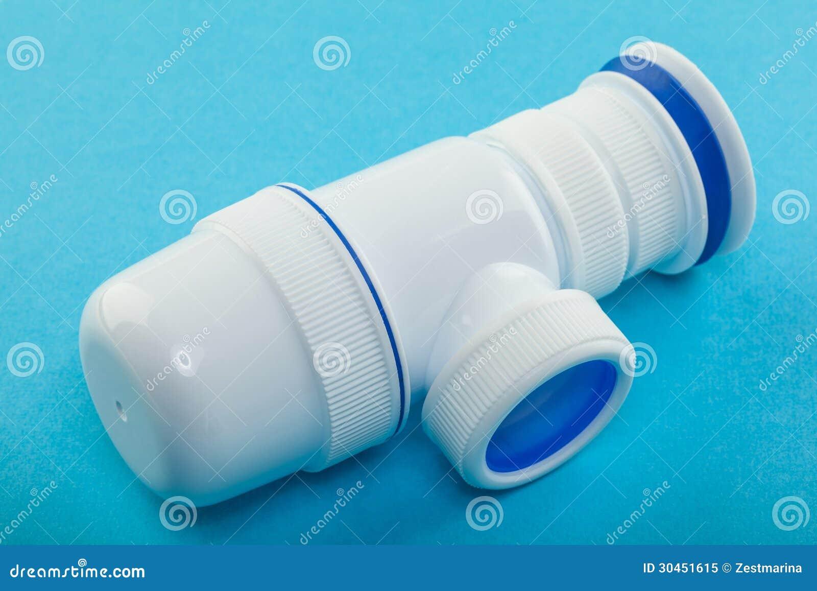 Plastic Plumbing Pipe Royalty Free Stock Photo Image