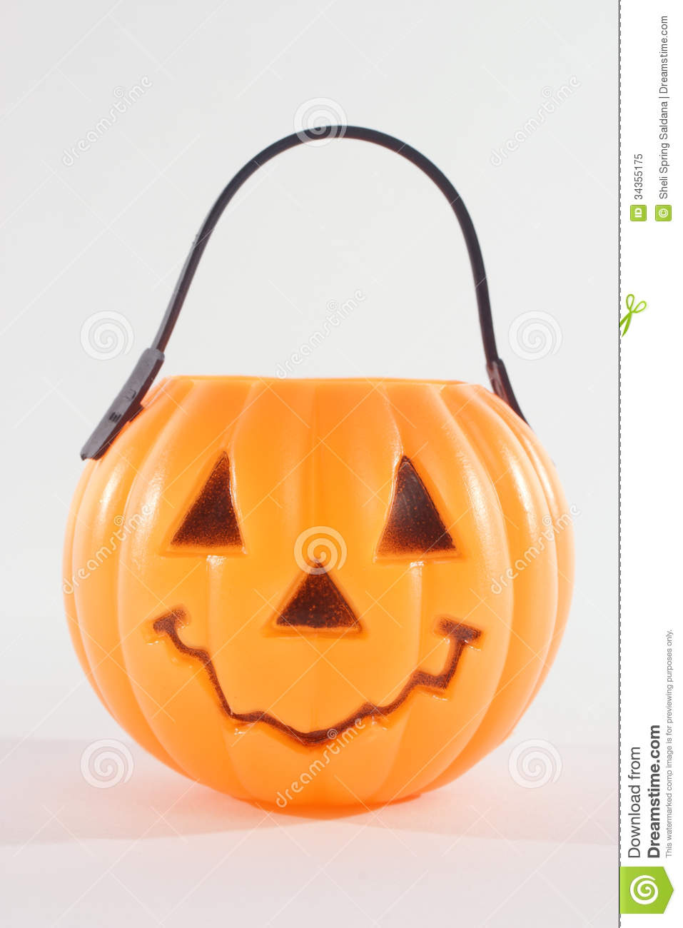 royalty free stock photo download plastic pumpkin - Plastic Pumpkins