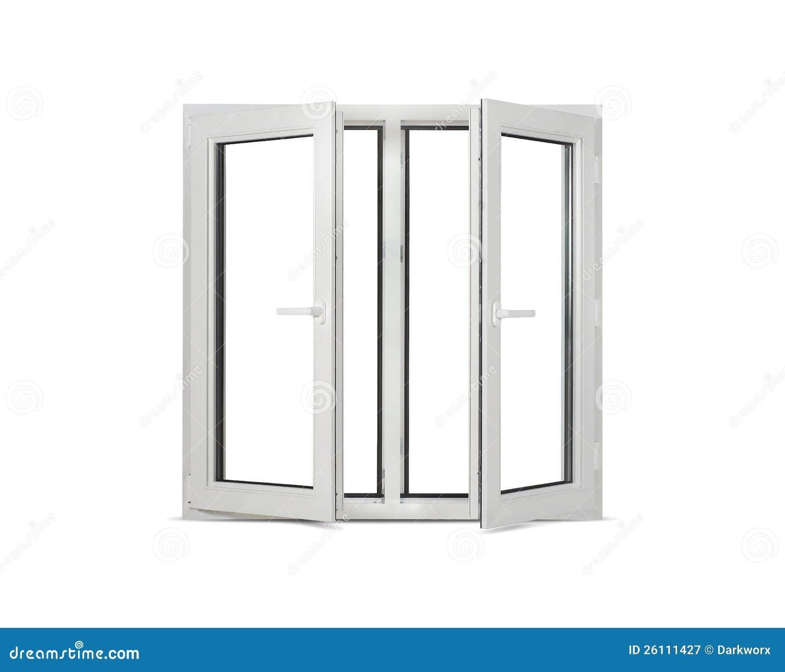Plastic Pvc Window On White Blank Background Royalty Free
