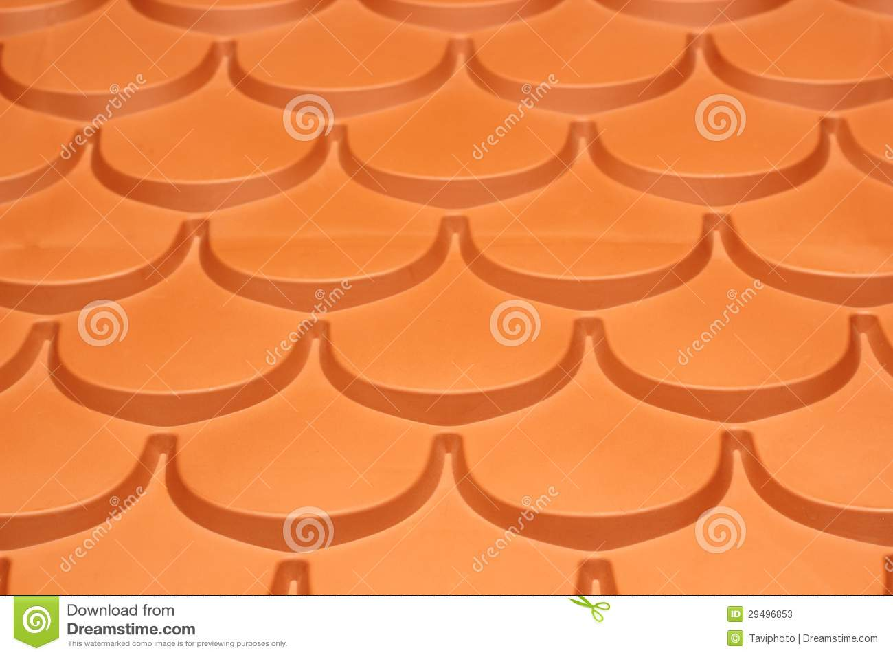 Plastic Roof Tiles Stock Photos Image 29496853