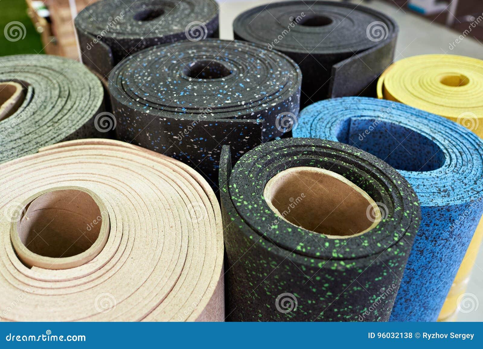 Plastic rubbervloerbedekkingen voor sportgymnastiek