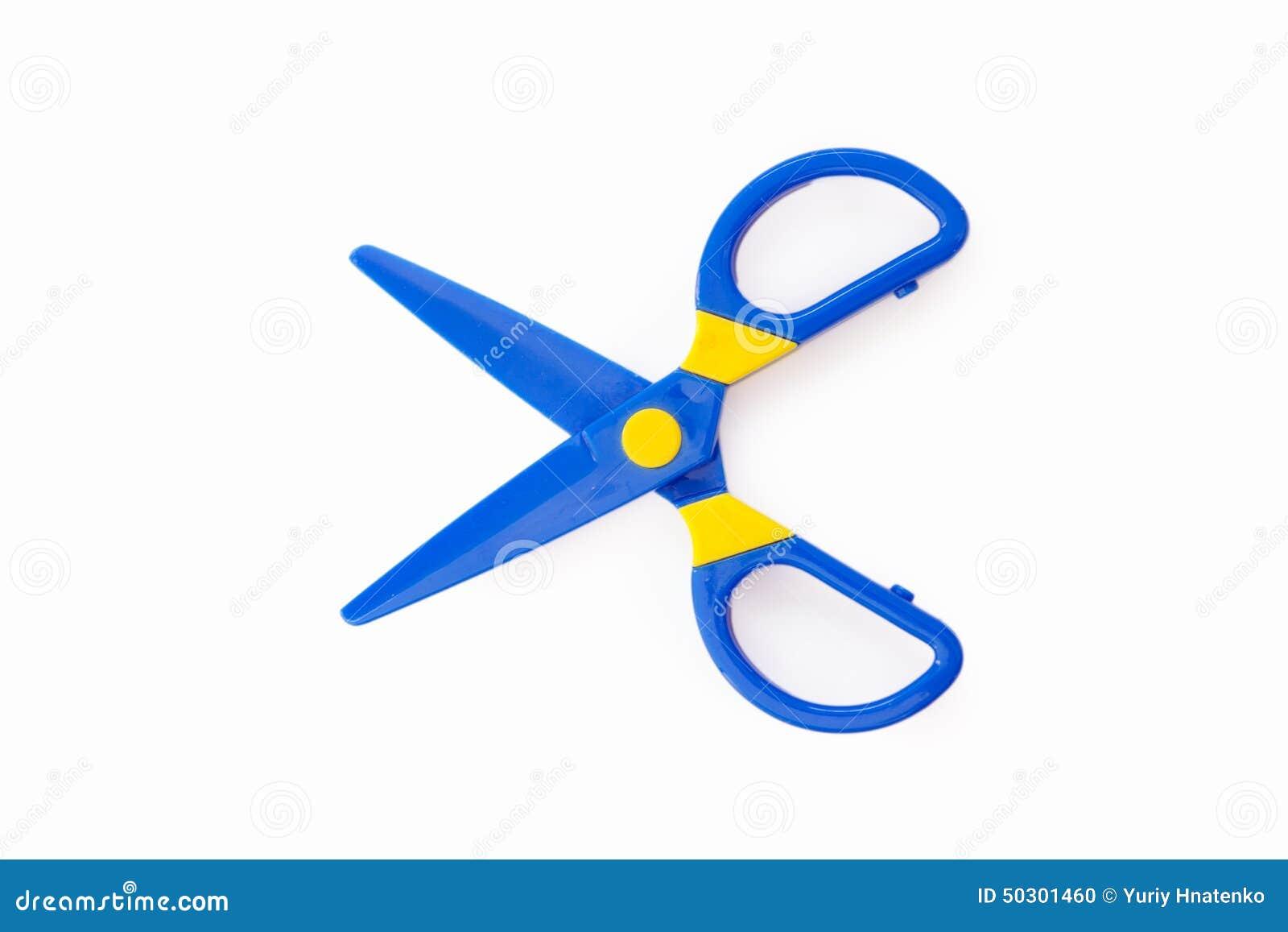 Plastic Scissors Stock Photo Image 50301460
