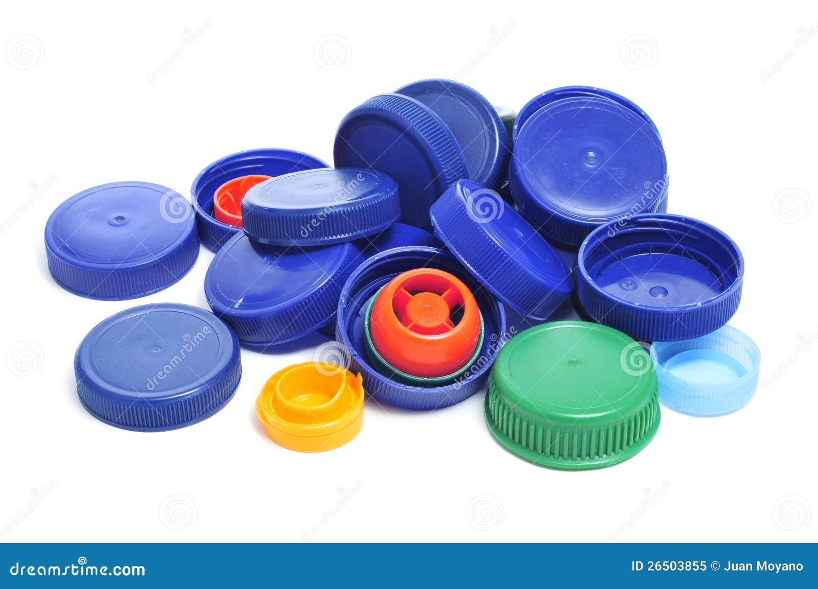 plastic caps stock image image of devices consumerism. Black Bedroom Furniture Sets. Home Design Ideas