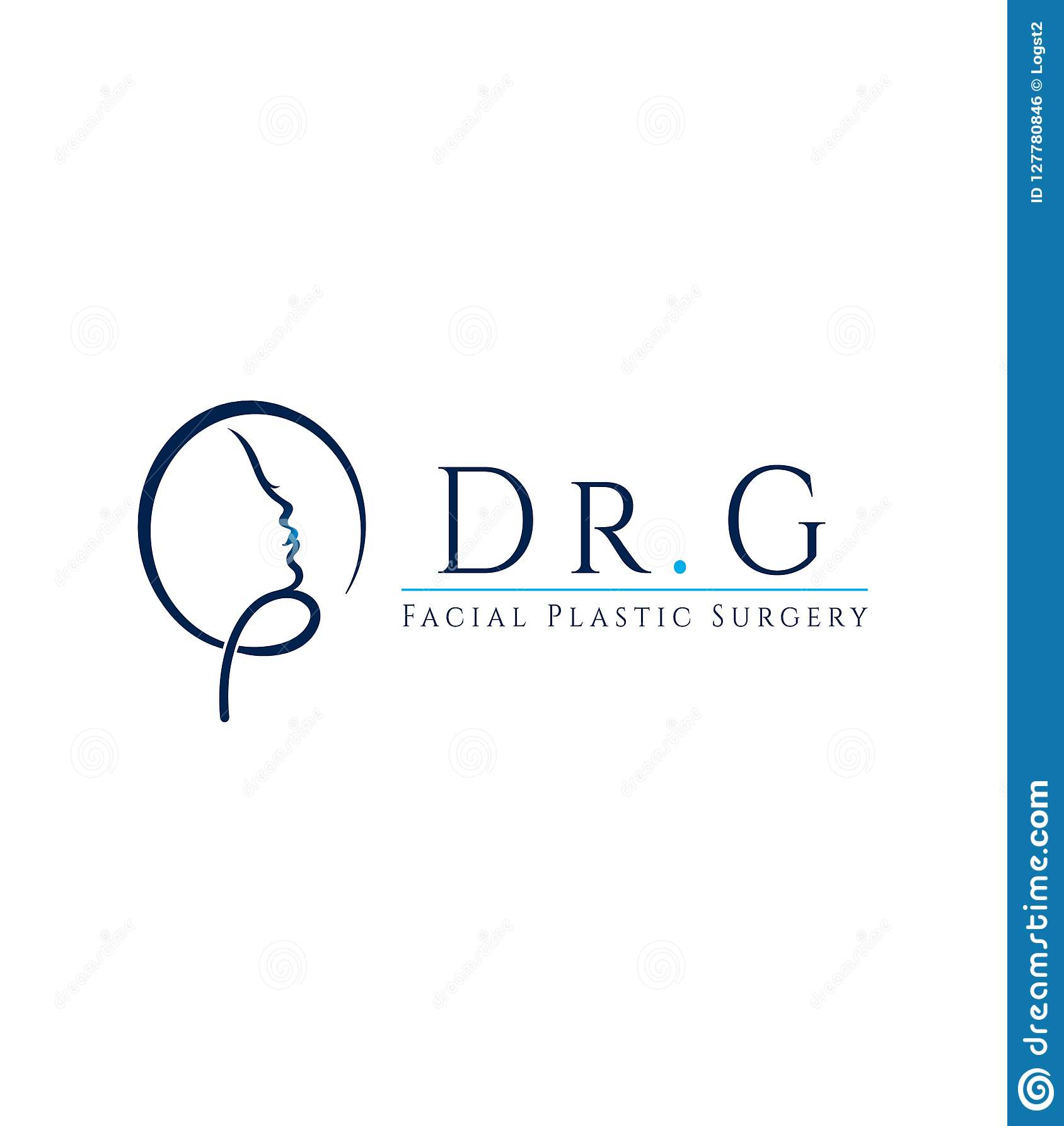 Plastic Surgeon Vector Logo Stock Vector Illustration Of Aesthetics Design 127780846