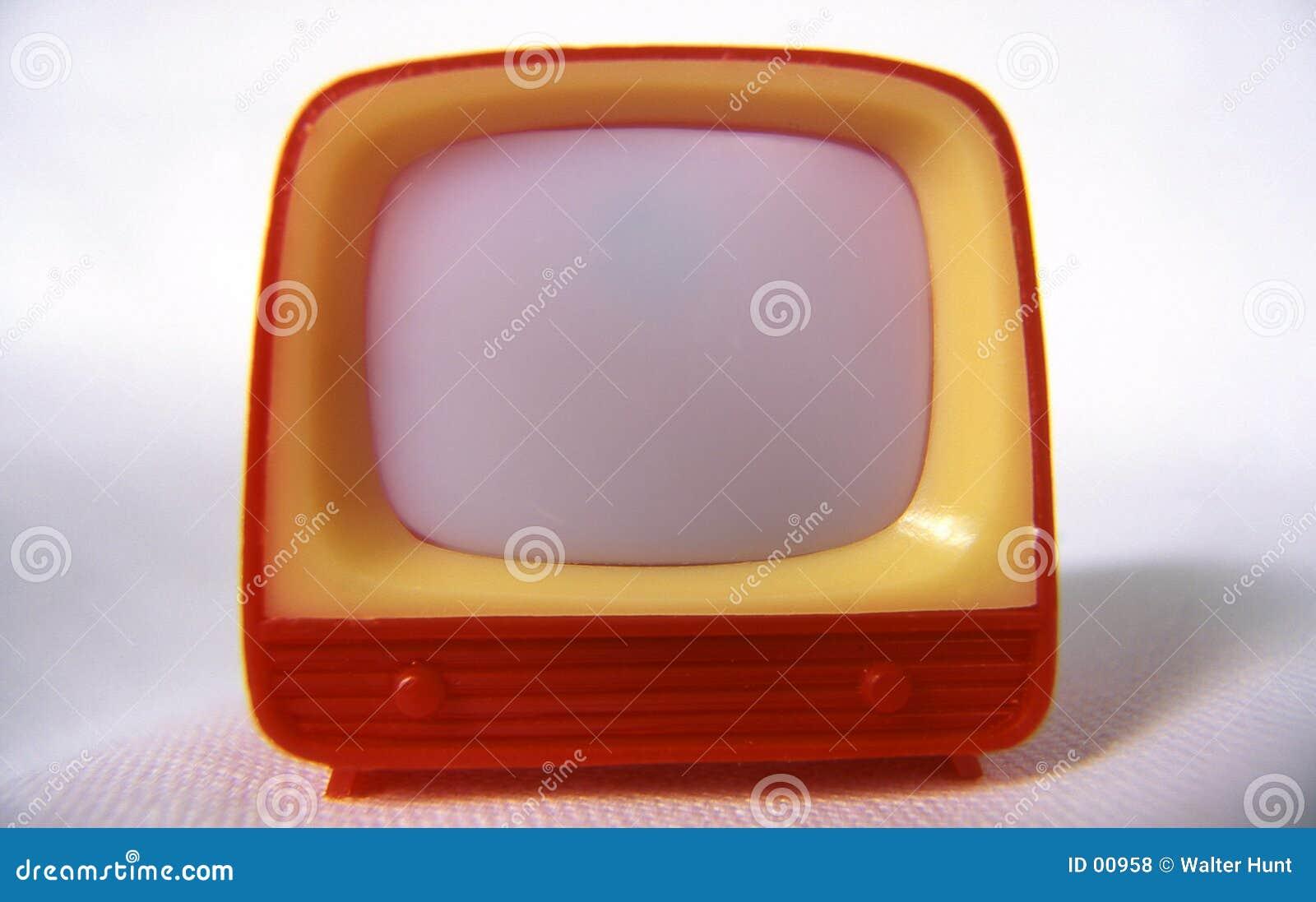 Plastic televisie