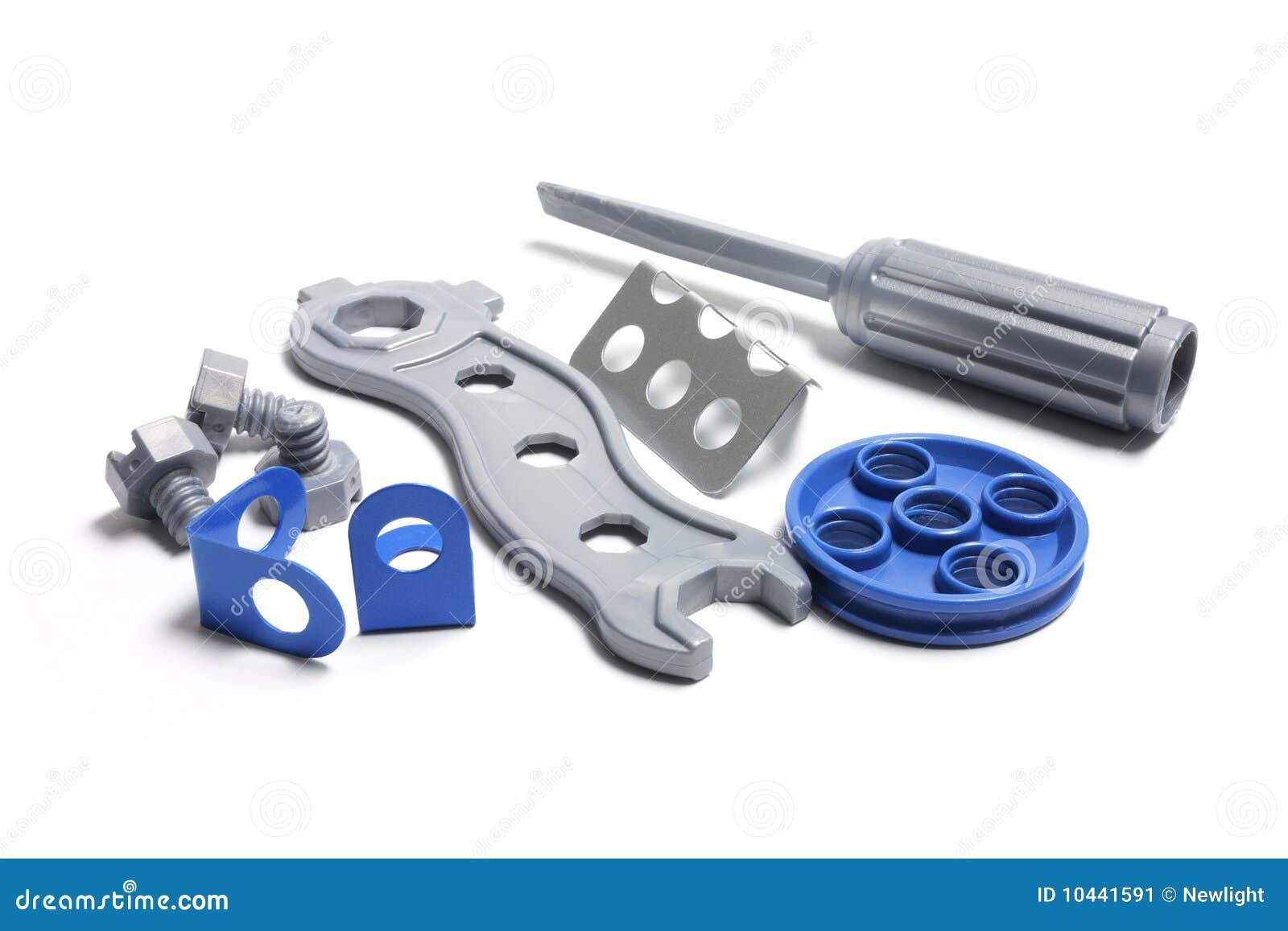 Plastic Toy Tools : Plastic toy tools stock image