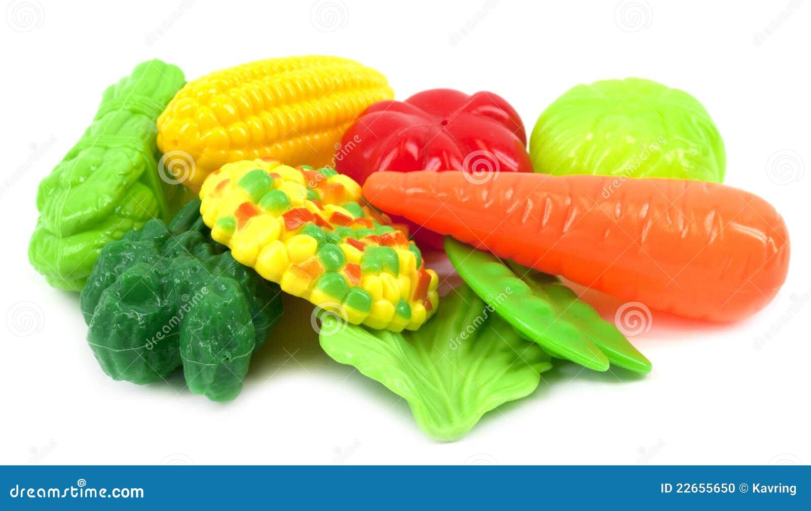 Plastic Vegetables Stock Photo Image 22655650