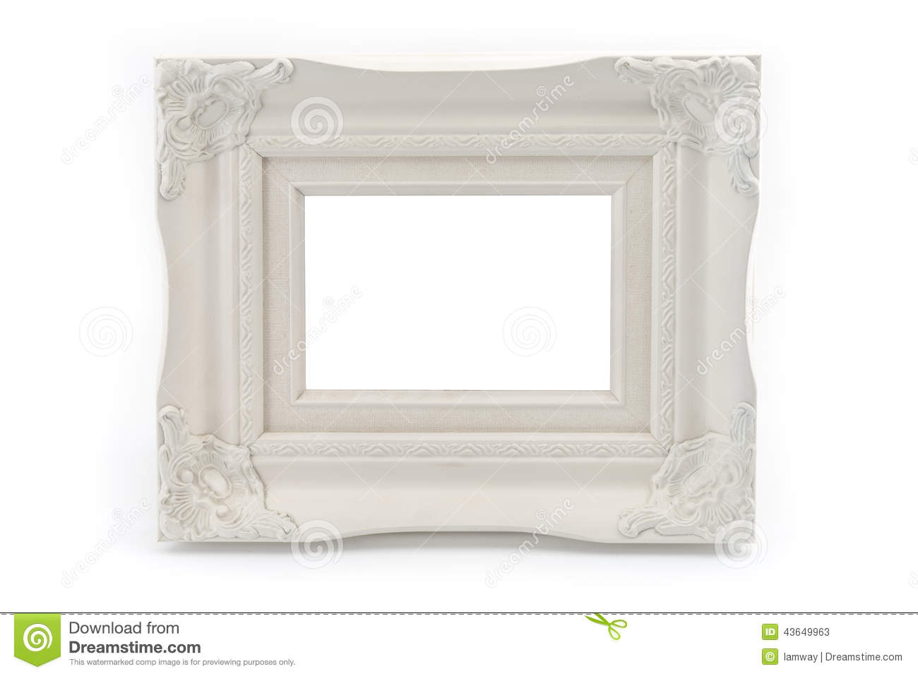Plastic vintage style photo frame stock photo image for Small vintage style picture frames