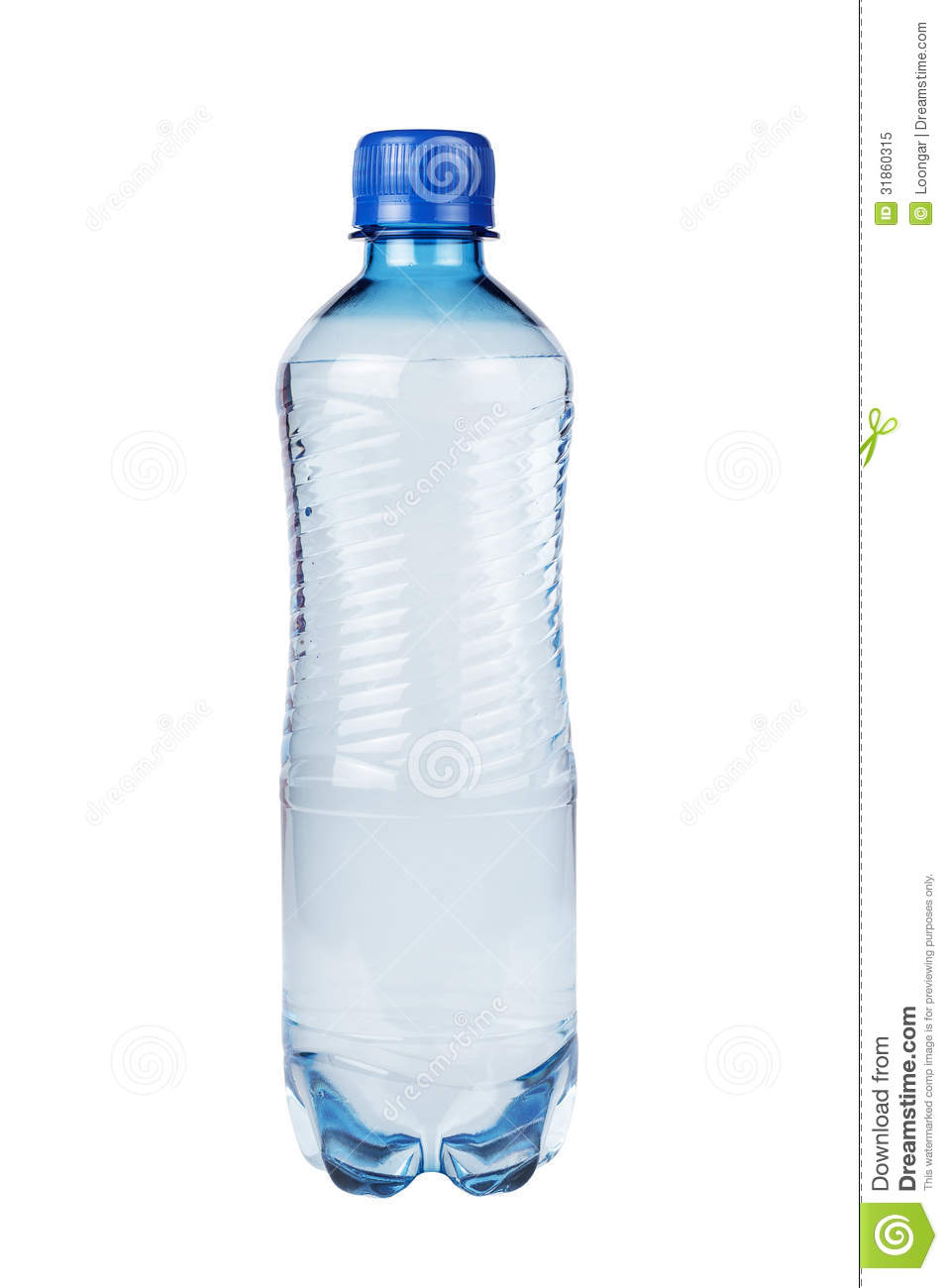 Plastic Water Bottle Isolated Royalty Free Stock Photo ...