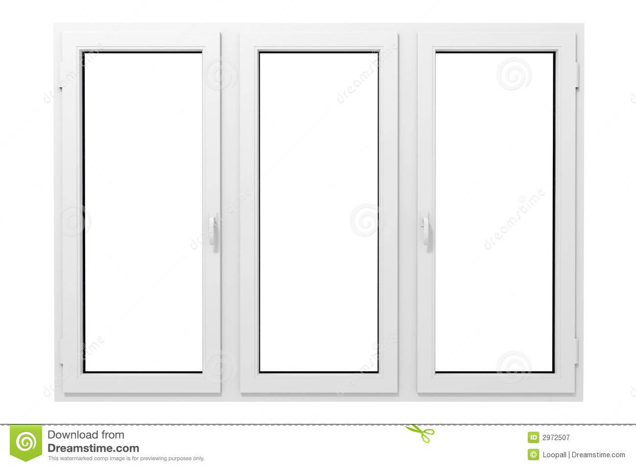 Plastic window royalty free stock photography image 2972507 for Window plastic
