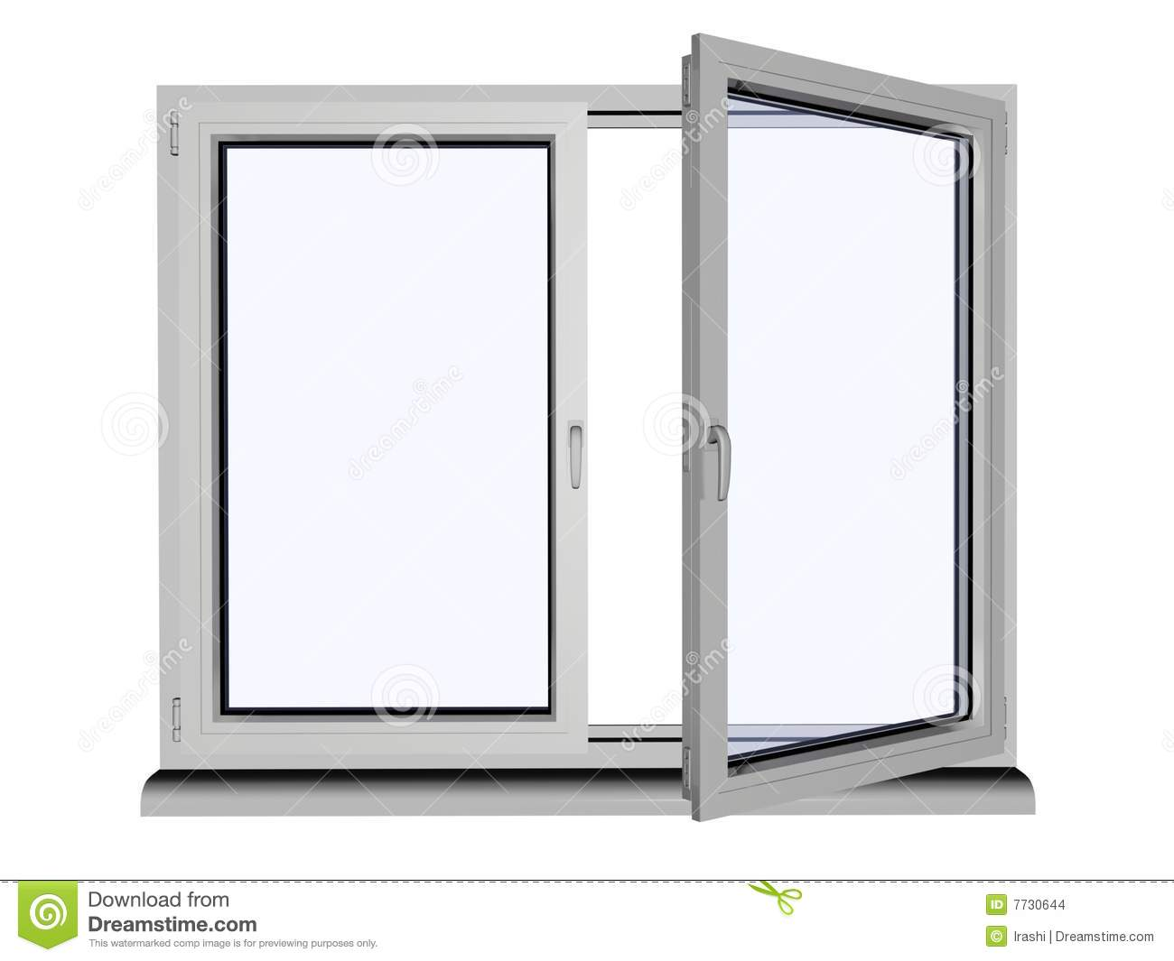 Plastic window stock images image 7730644 for Window plastic