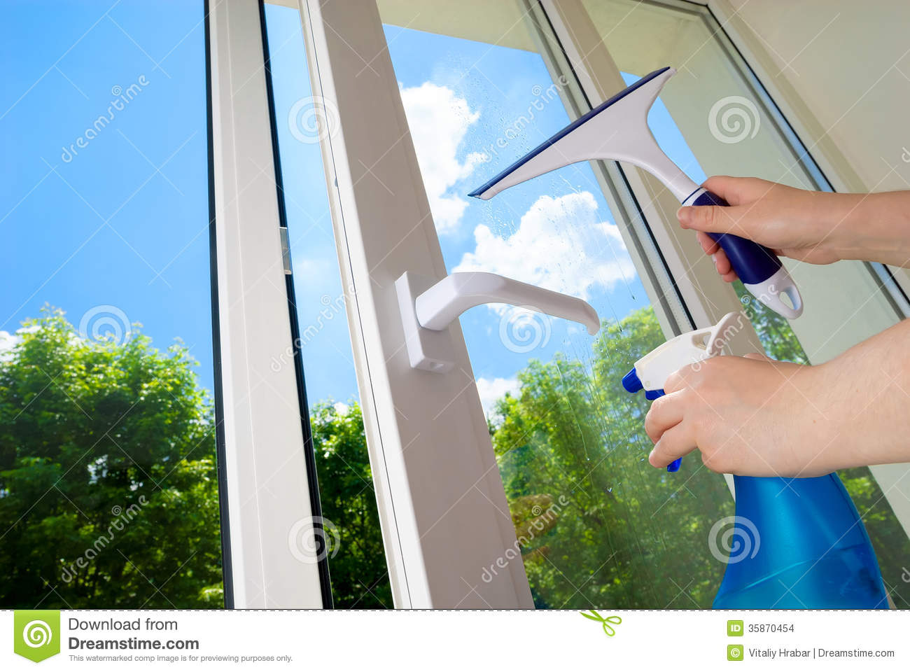 Plastic window stock images image 35870454 for Window plastic