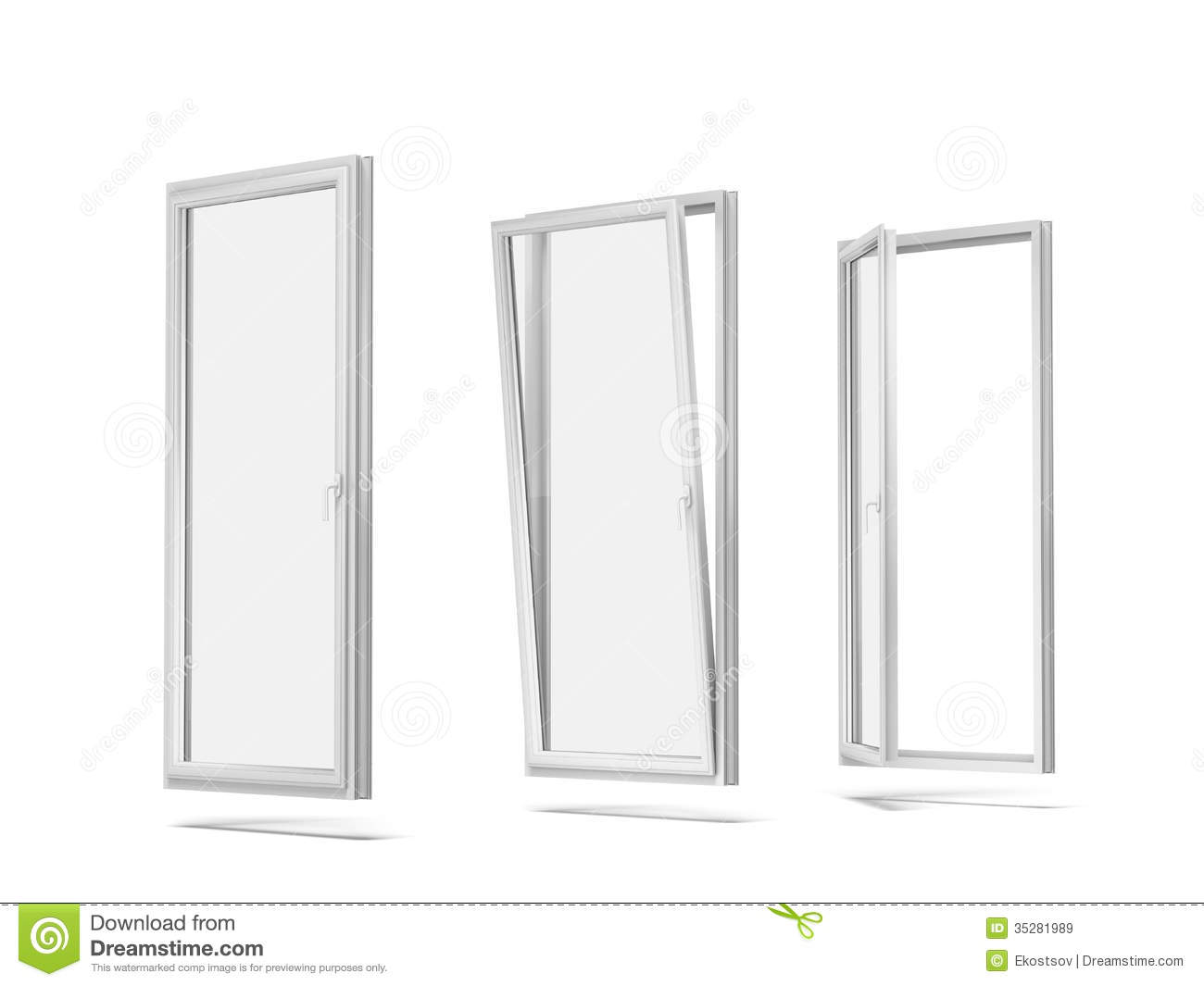 Plastic windows royalty free stock images image 35281989 for Window plastic