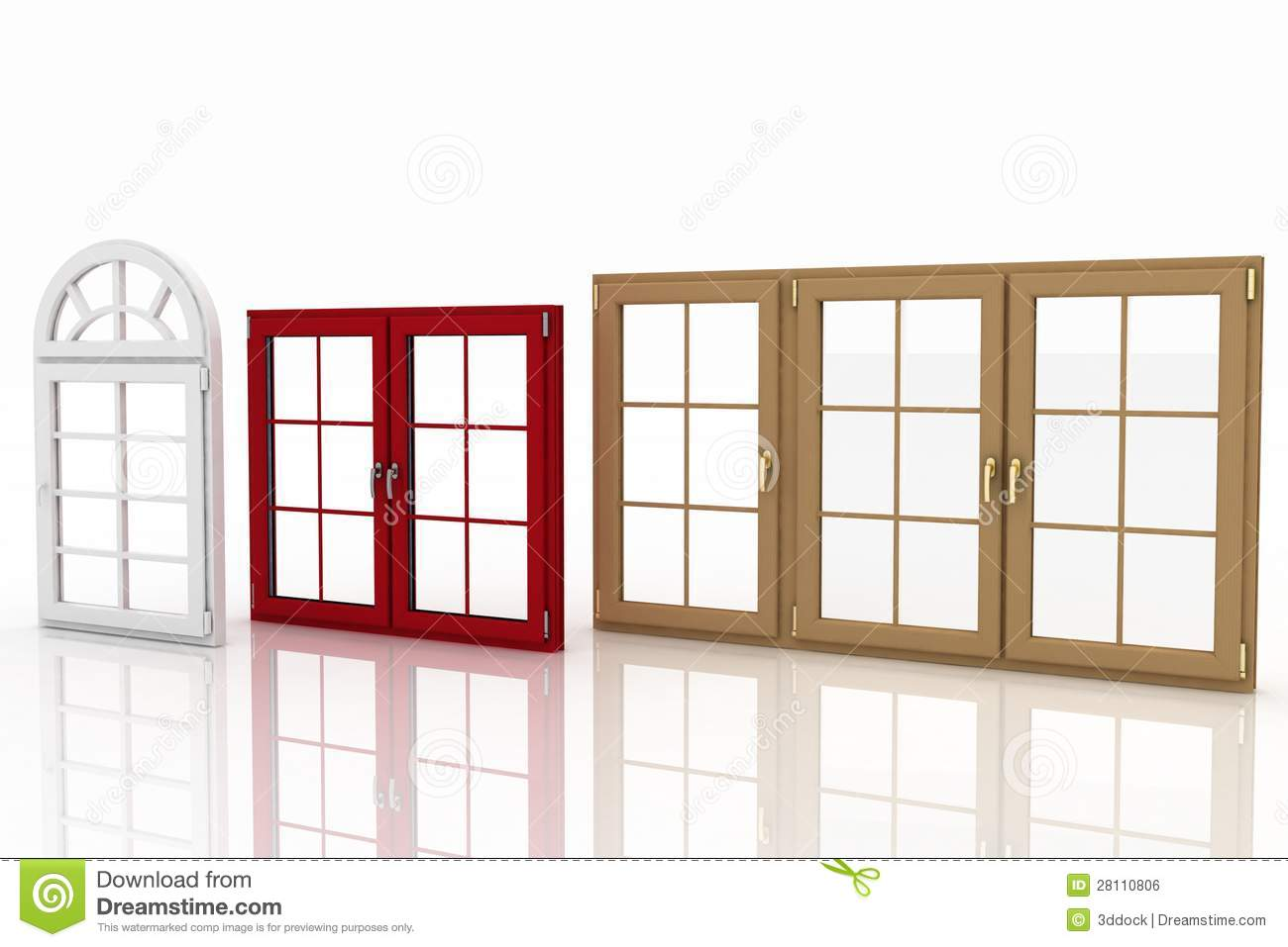 Plastic windows on white royalty free stock image image for Window plastic