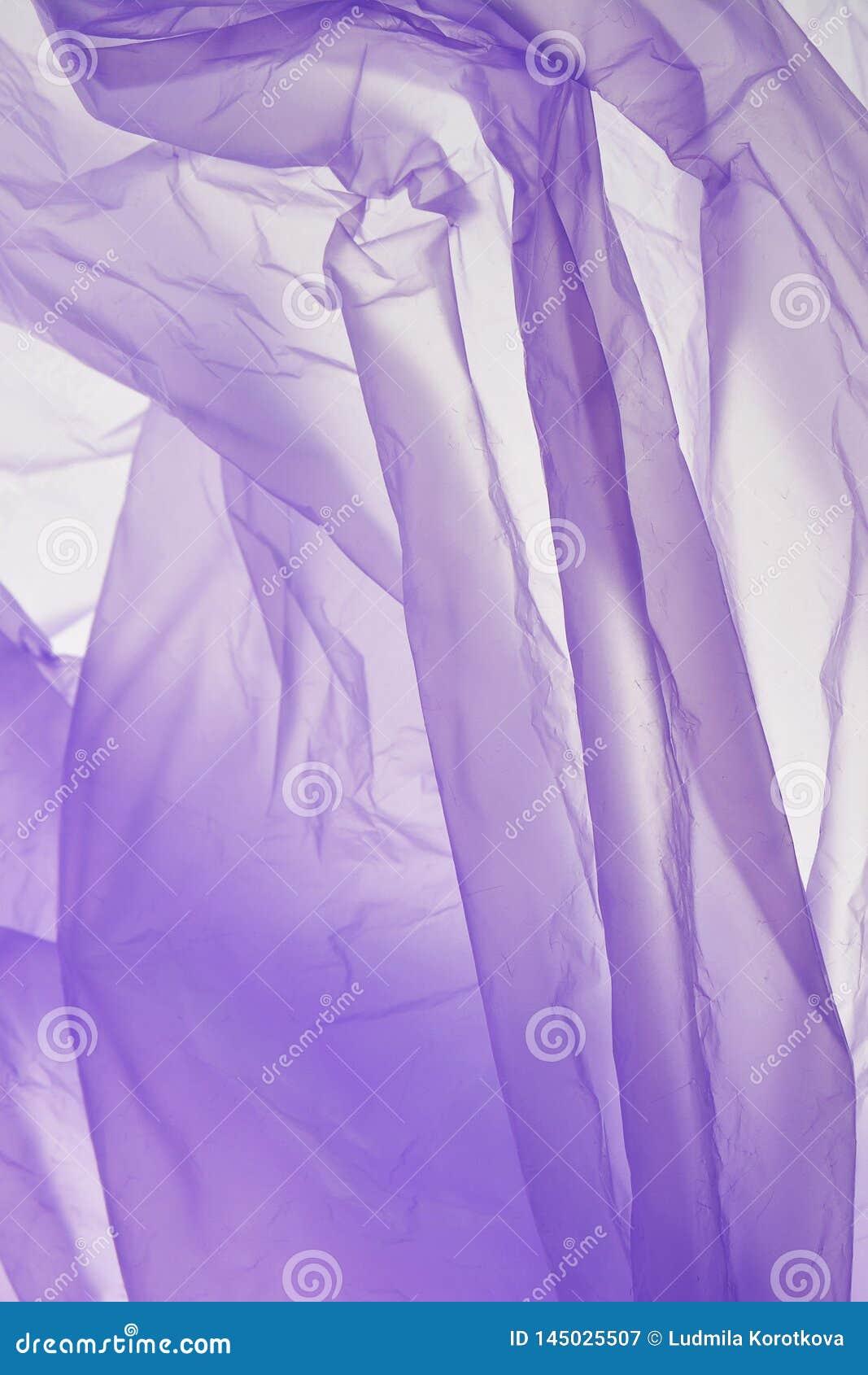 Plastic zakachtergrond De abstracte lichtpaarse achtergrond van de schaduwenwaterverf Geweven canvas voor ontwerp, kaartmalplaatj