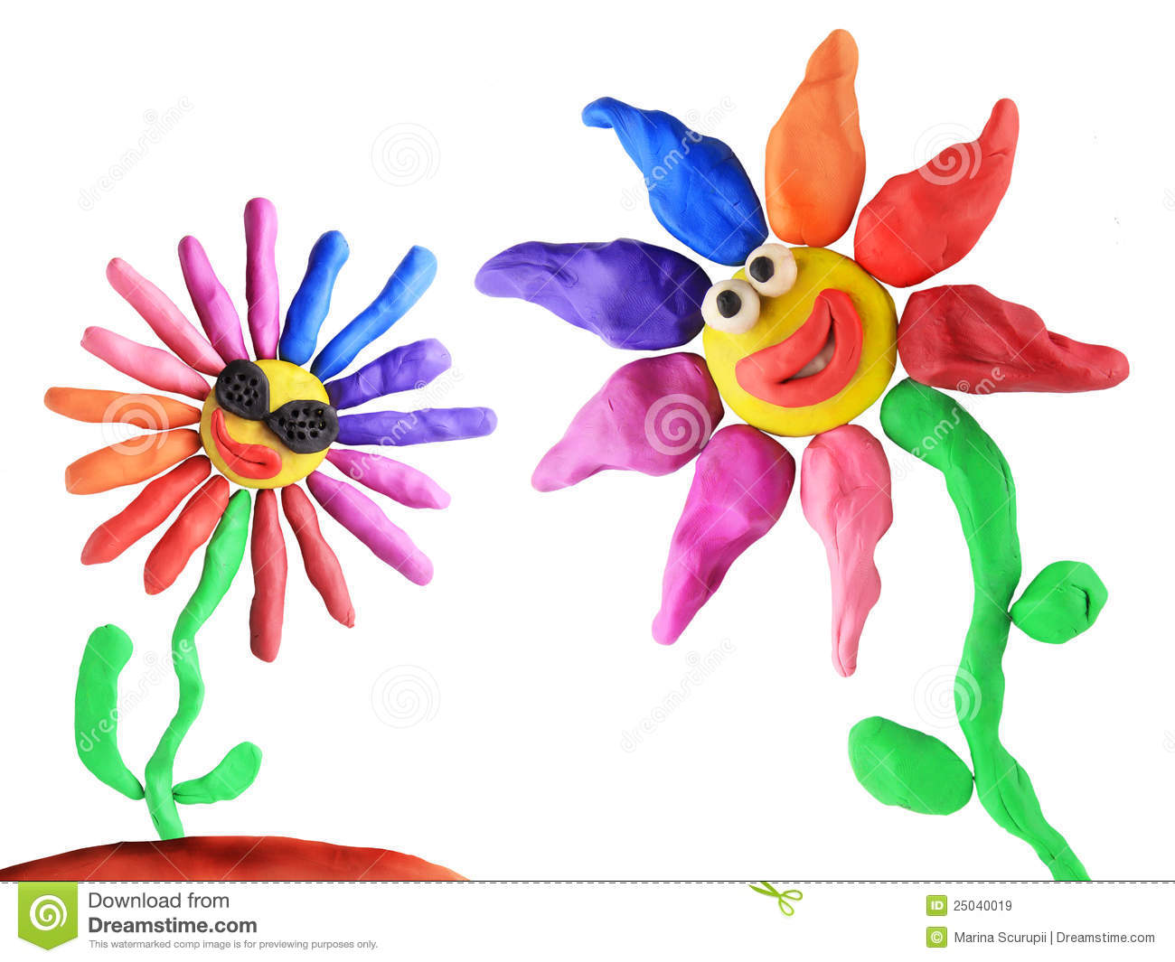 Plasticine flowers friendship royalty free stock images image 25040019 - Flowers that mean friendship ...