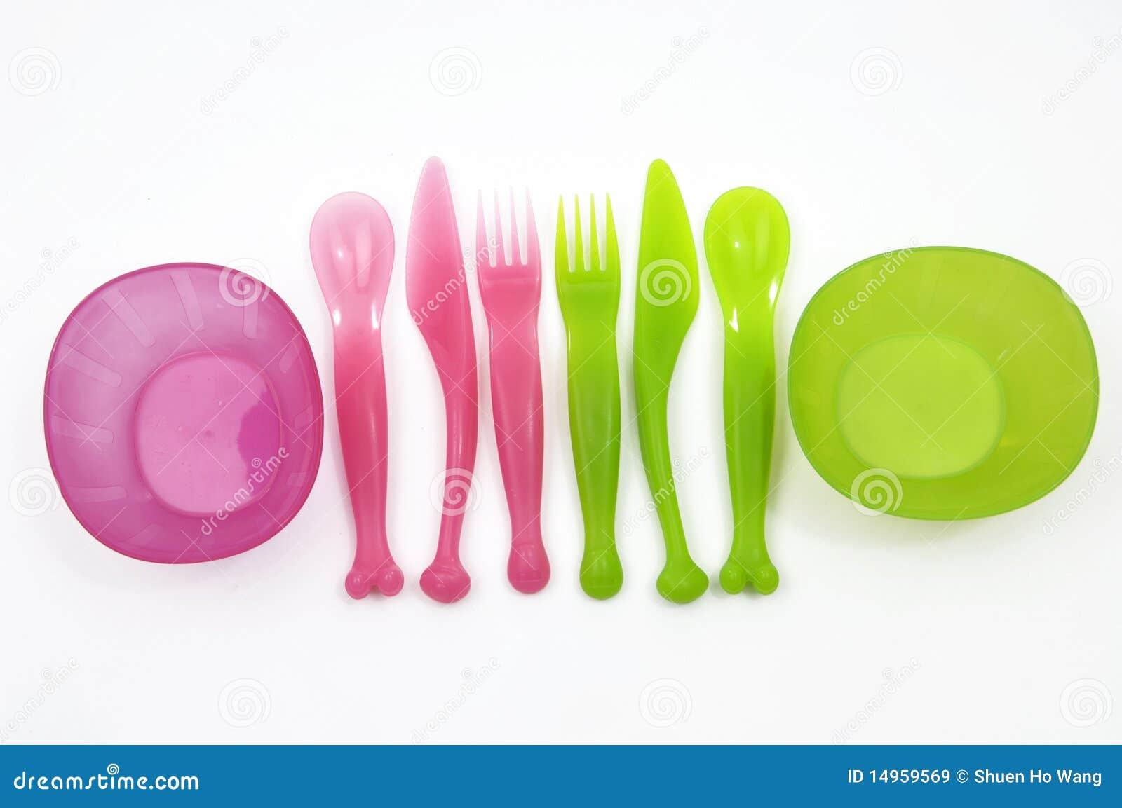 Plastikgabeln