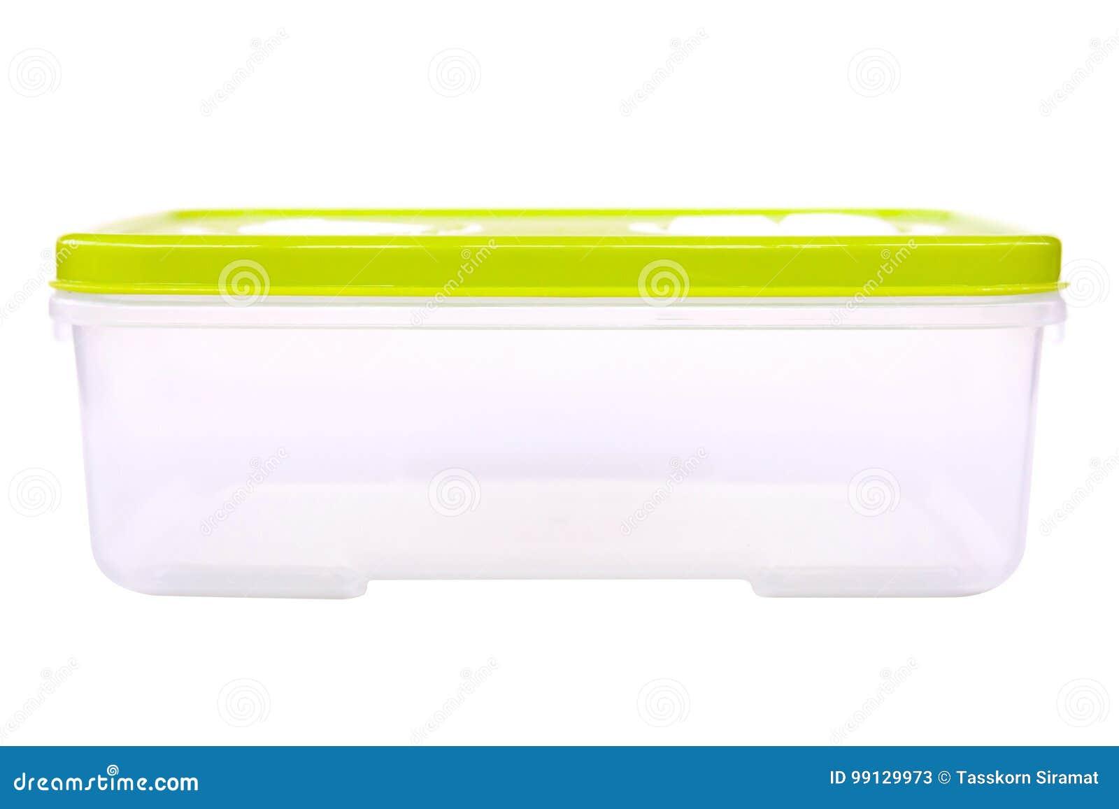 Plastiklebensmittel-Kasten-Behälter Stockbild - Bild von küche ...
