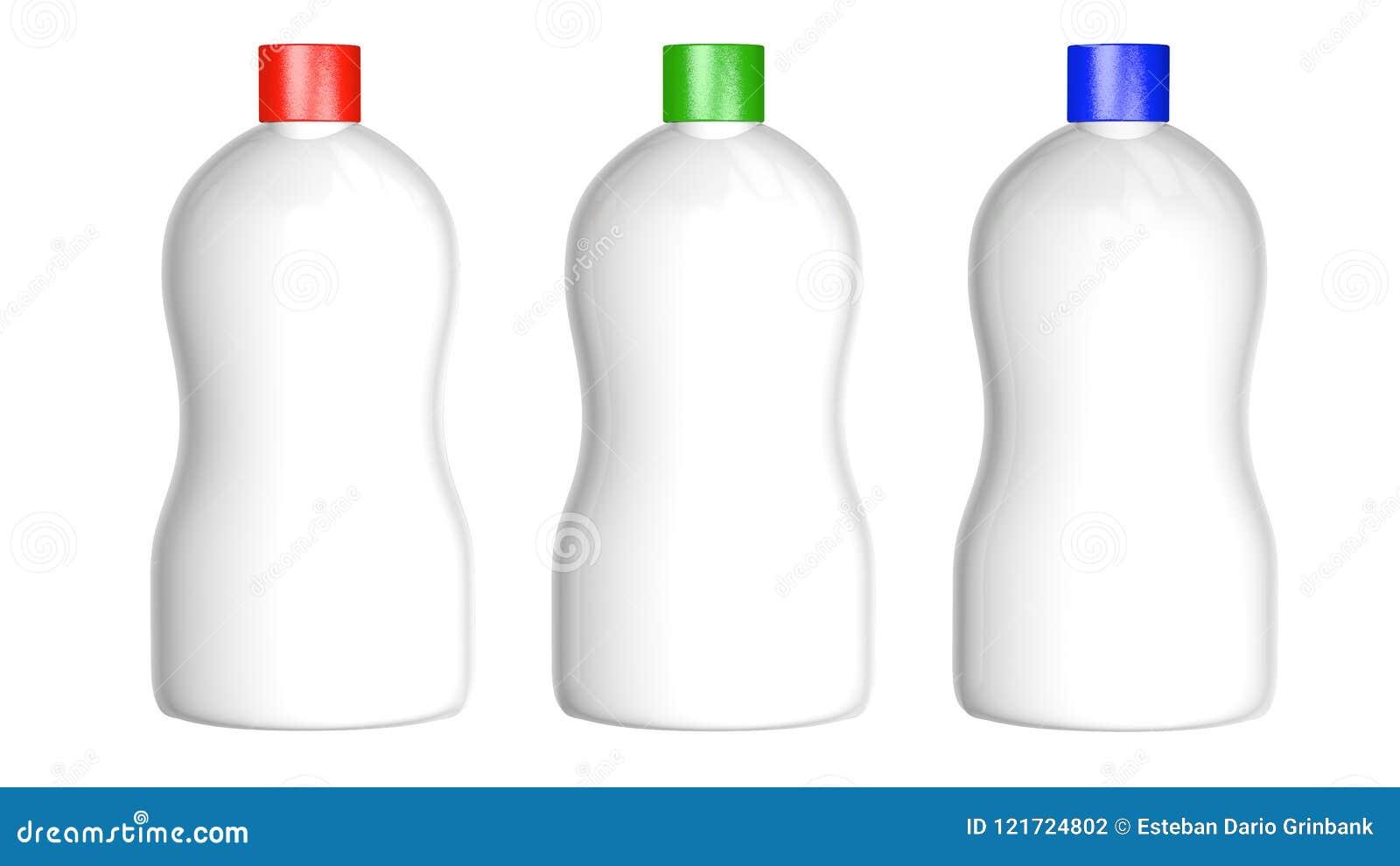PLASTIKOWE butelka koloru nakrętki DALEJ