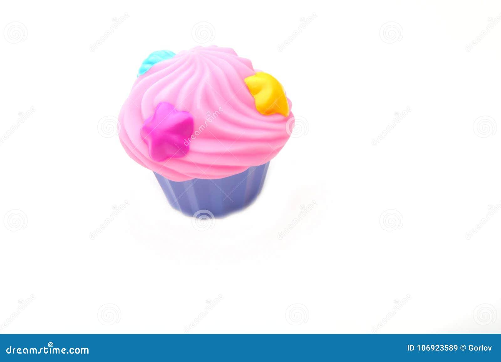Plastikowej Colour zabawki filiżanki Karmowy tort