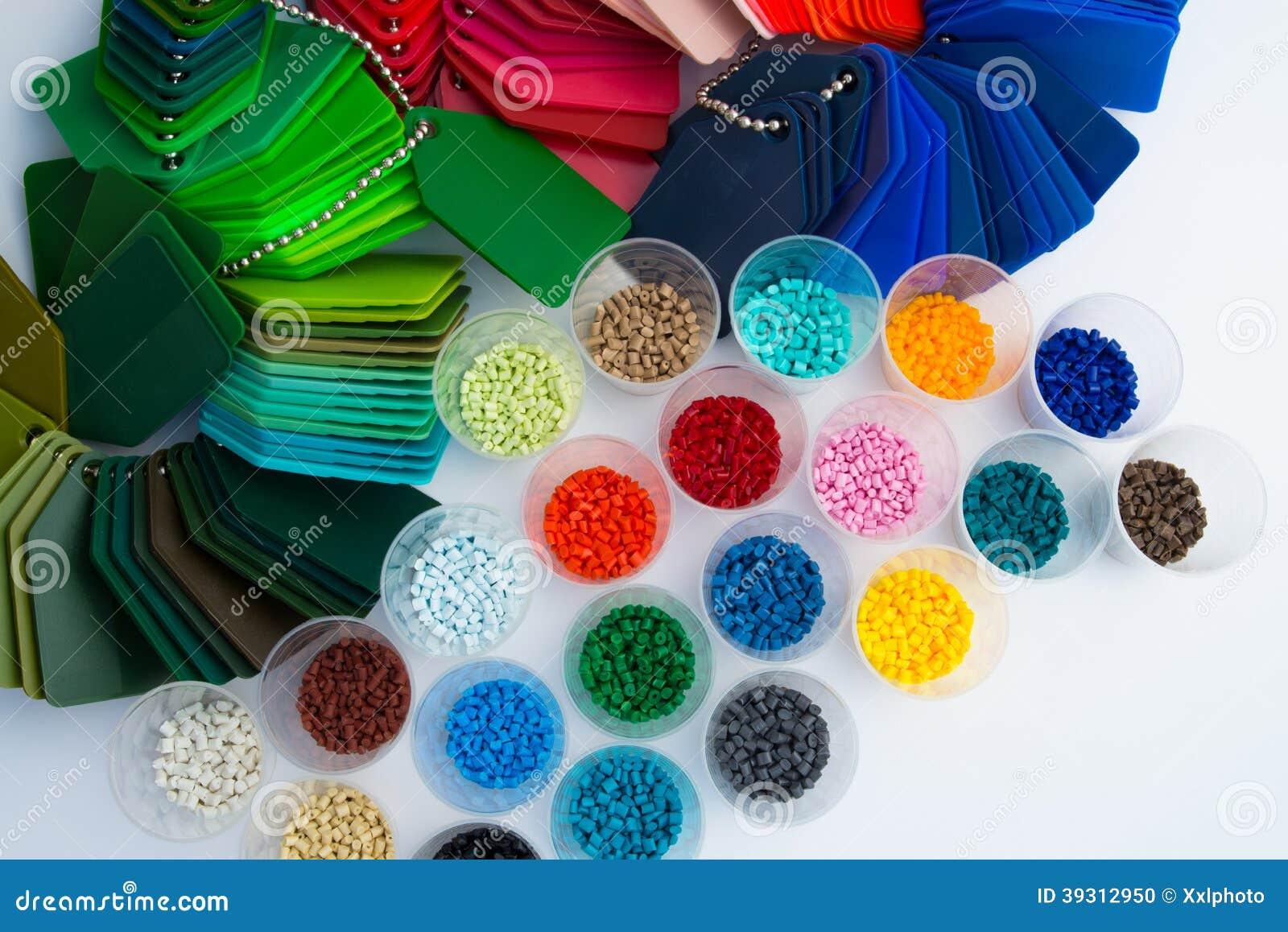 Plastikowy polimer granuluje