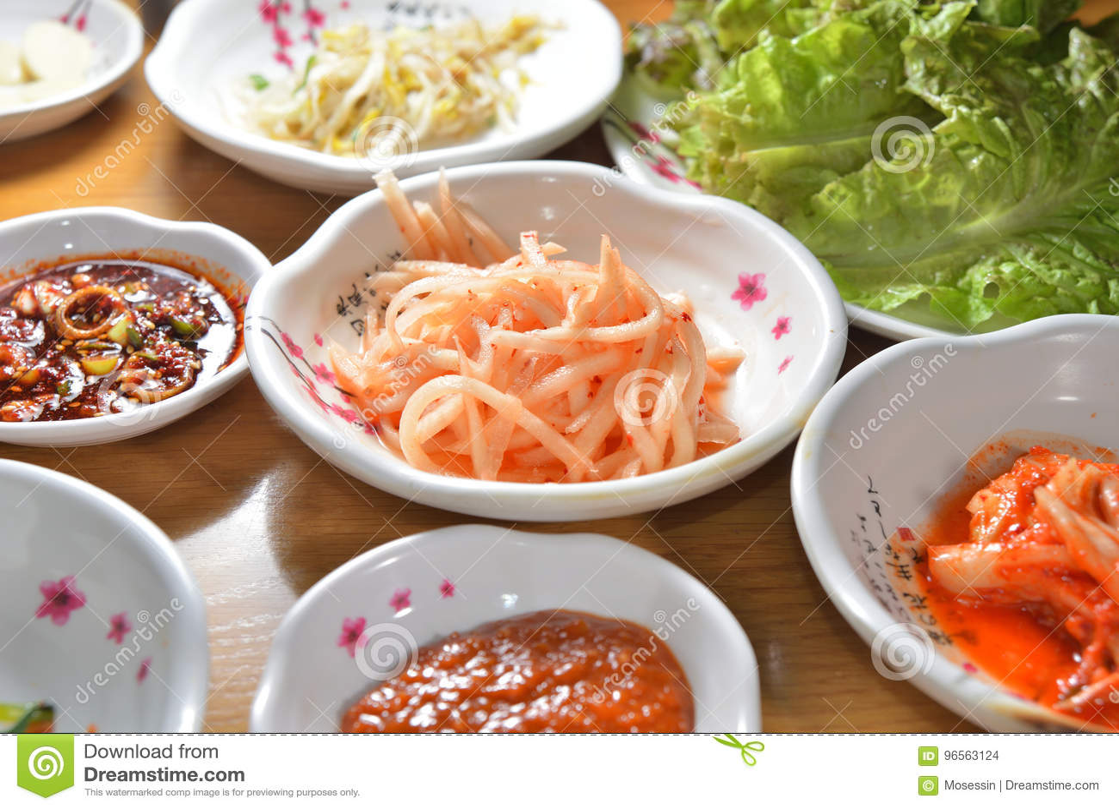 Plat coréen de kimchi