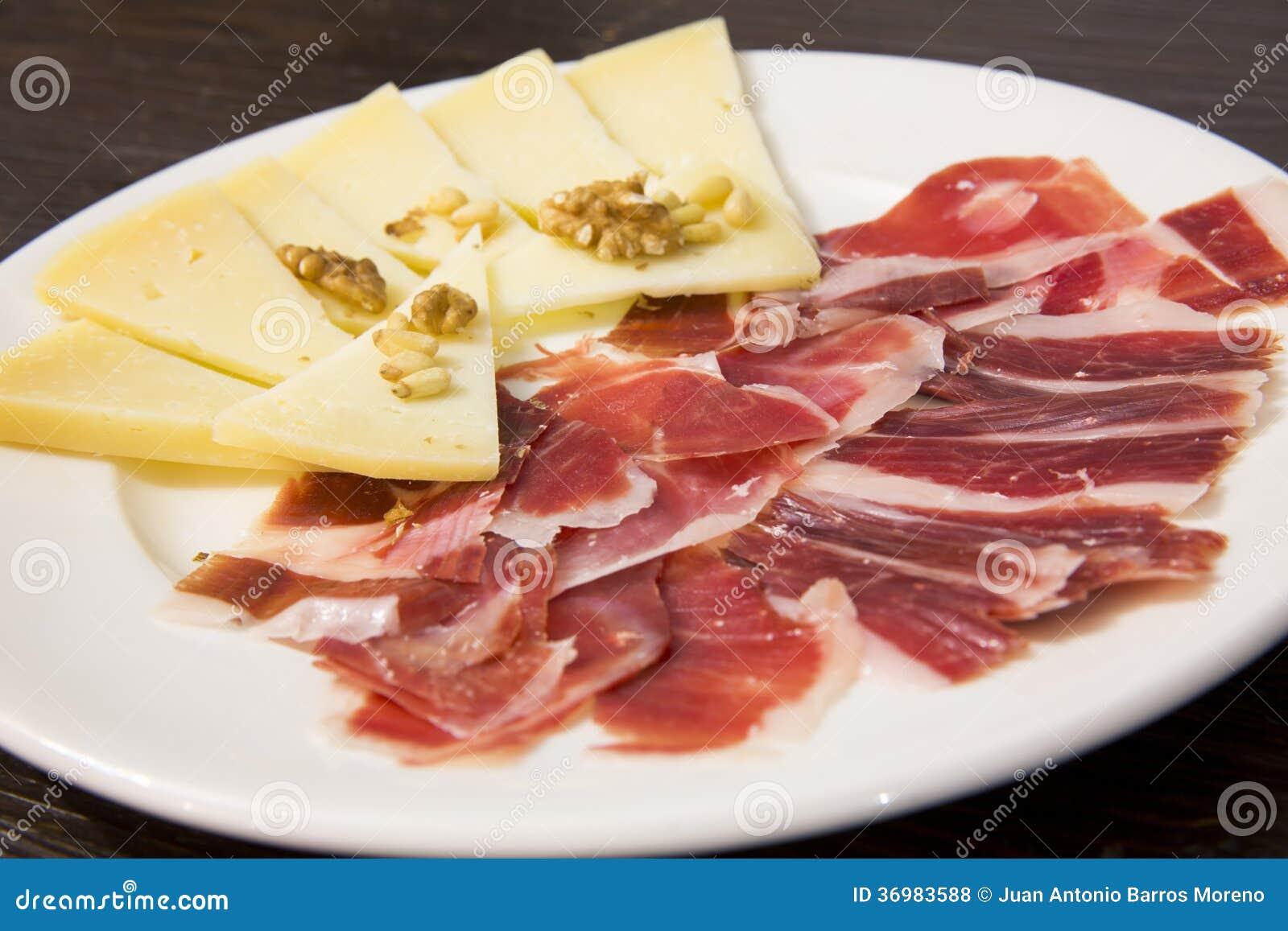 Plat De Nourriture Nourriture Espagnole Photo Stock