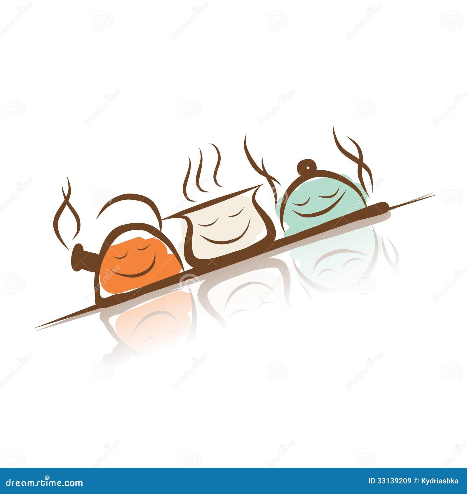 Plat dr le th i re casserole et chapeau dessin de - Casserole dessin ...