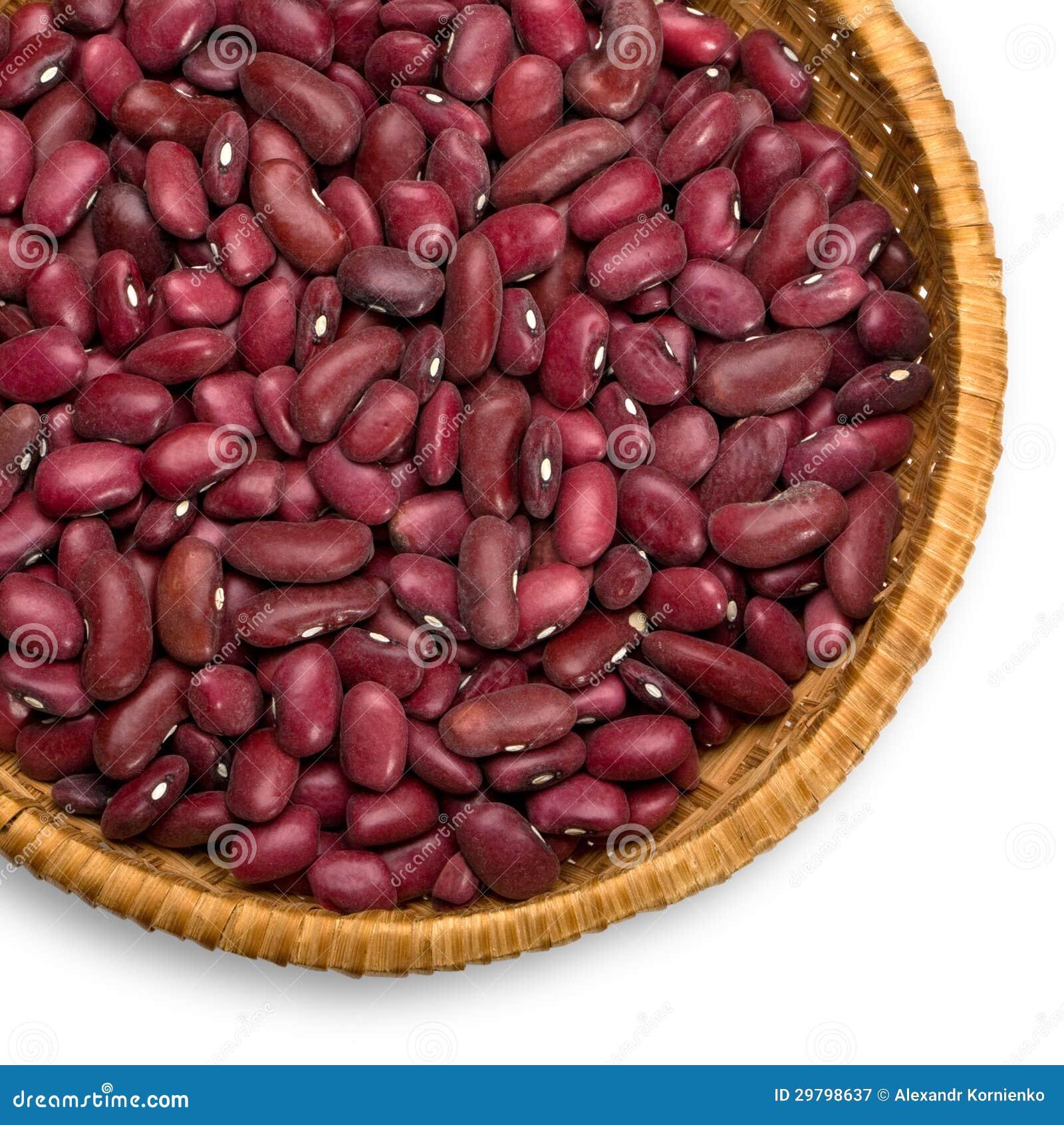 haricots rouges de grains photographie stock libre de droits image 29798637. Black Bedroom Furniture Sets. Home Design Ideas