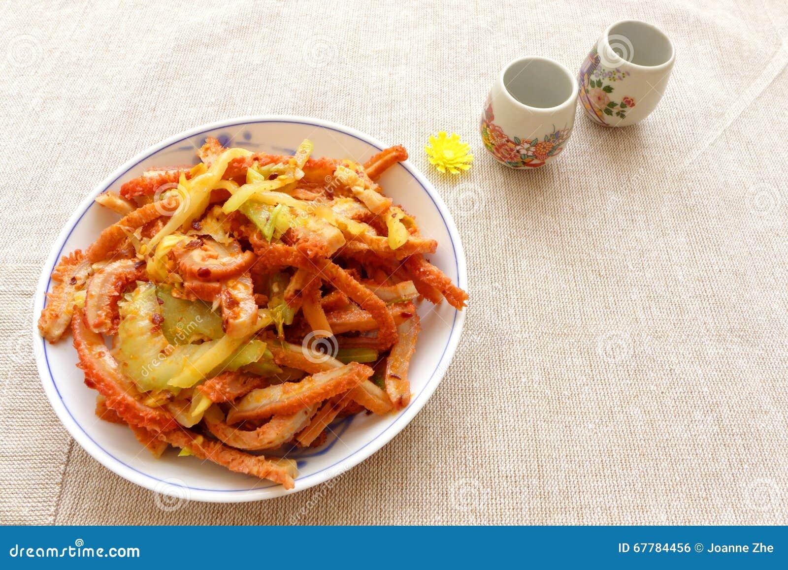 Plat froid d 39 ap ritif chinois de cuisine photo stock image 67784456 - Un chinois en cuisine ...