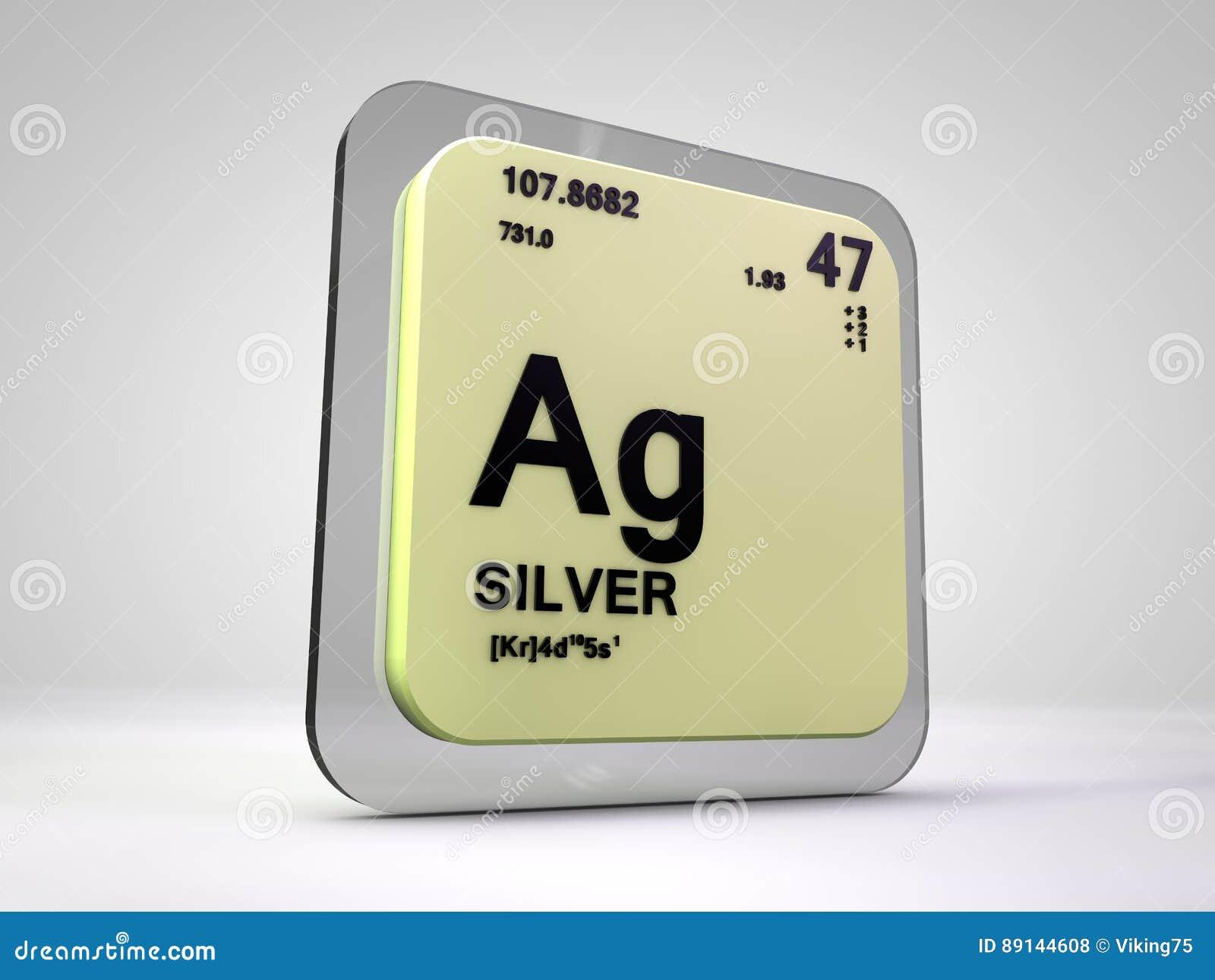 Plata ag tabla peridica del elemento qumico stock de download comp urtaz Choice Image