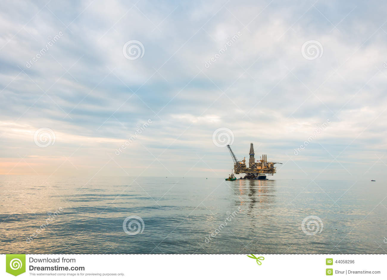 Plataforma da plataforma petrolífera
