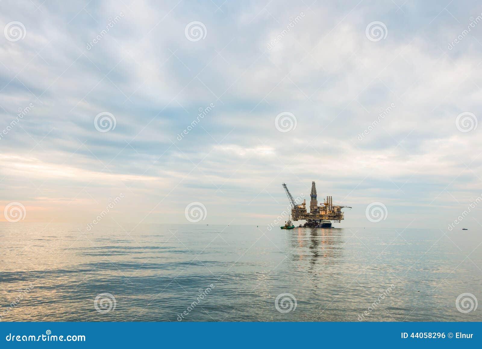 Plataforma de la plataforma petrolera