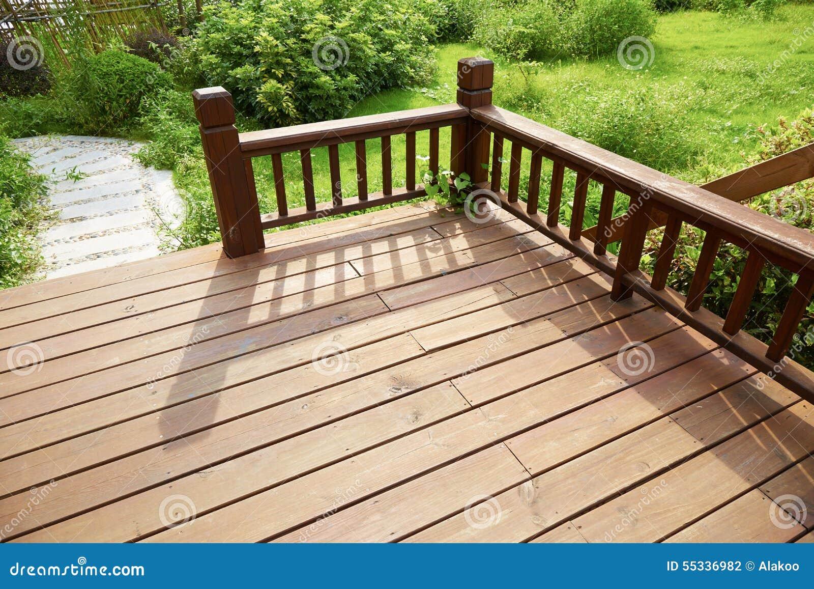 Plataforma de madeira