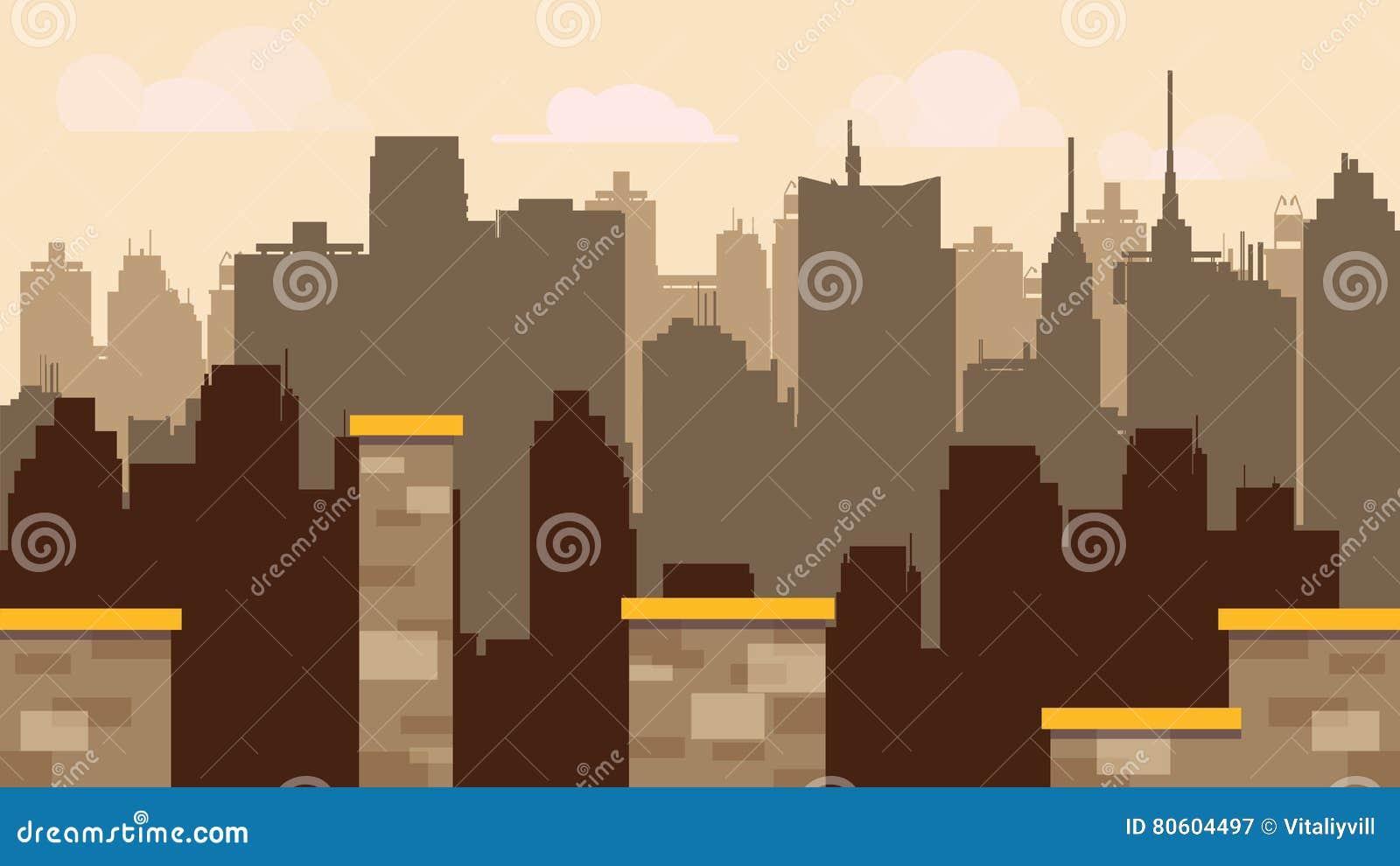 plataforma determinada de la teja para el juego diseo de juegos del modelo del vector estilo plano del ilustrador con el fondo