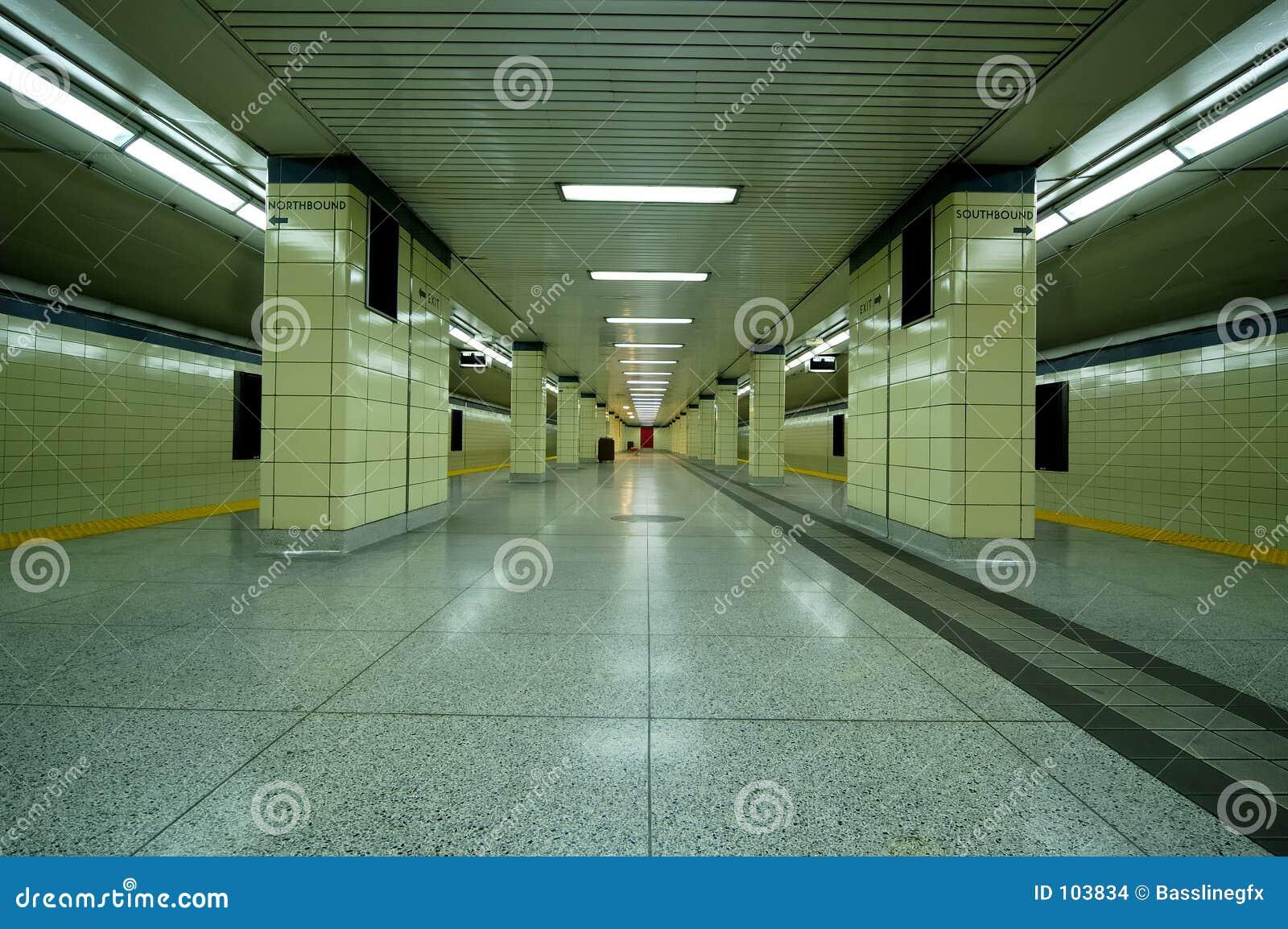 Plataforma do metro