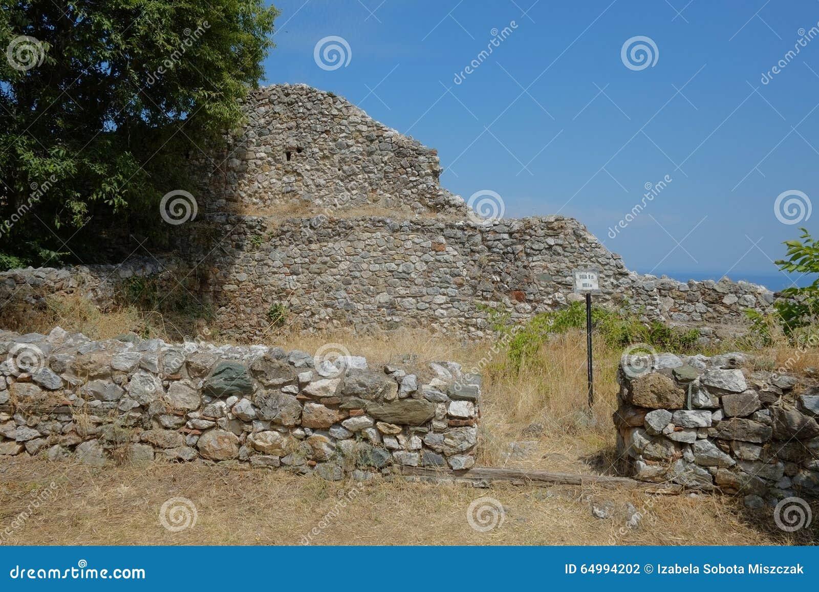 Platamon-Schloss in Griechenland