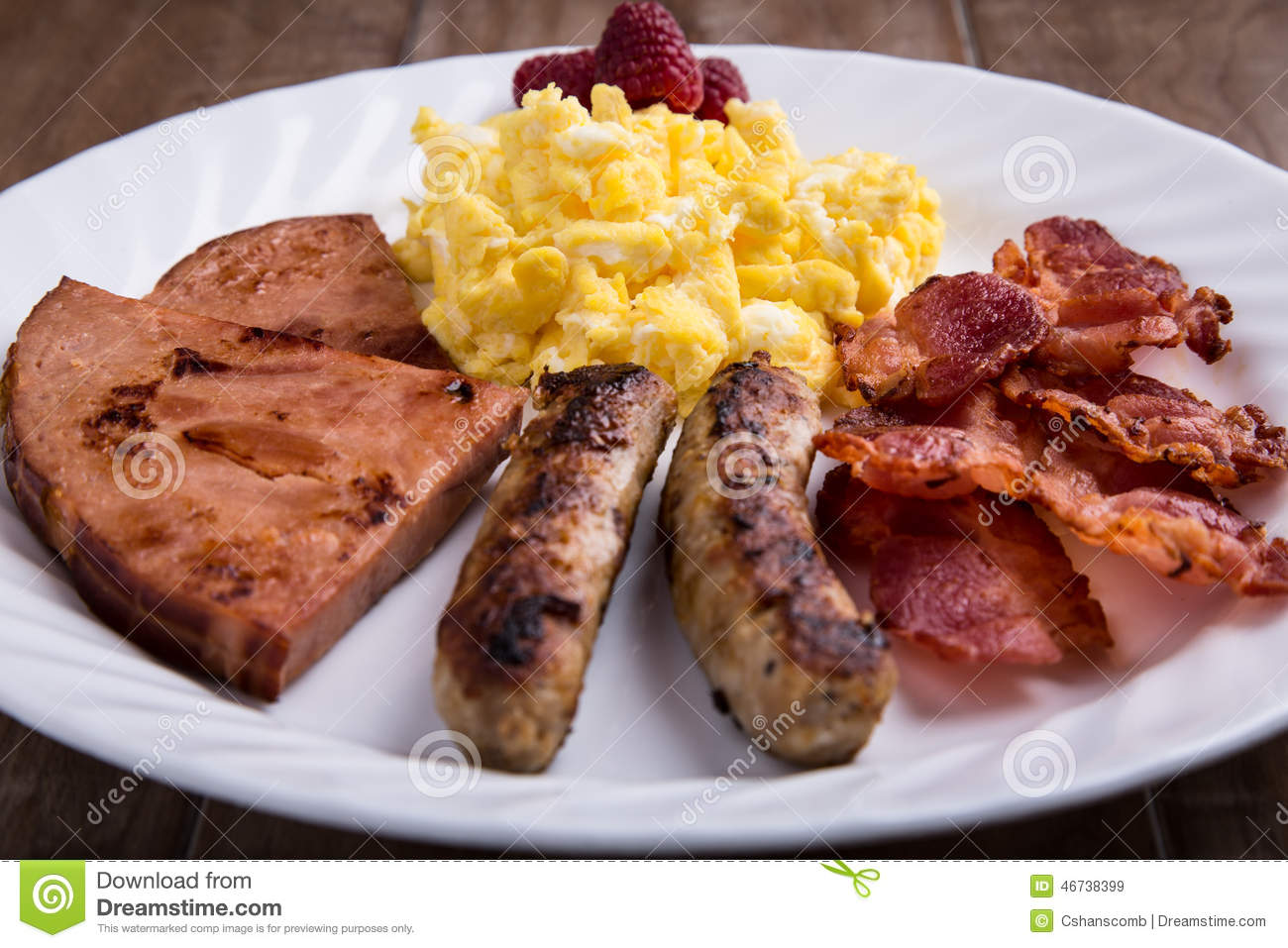 Breakfast ideas with eggs and sausage