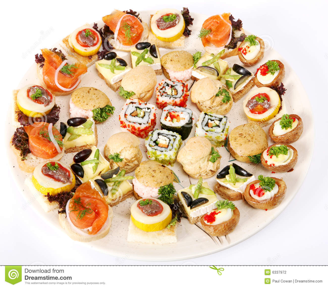 Canapes for Canape plate definition