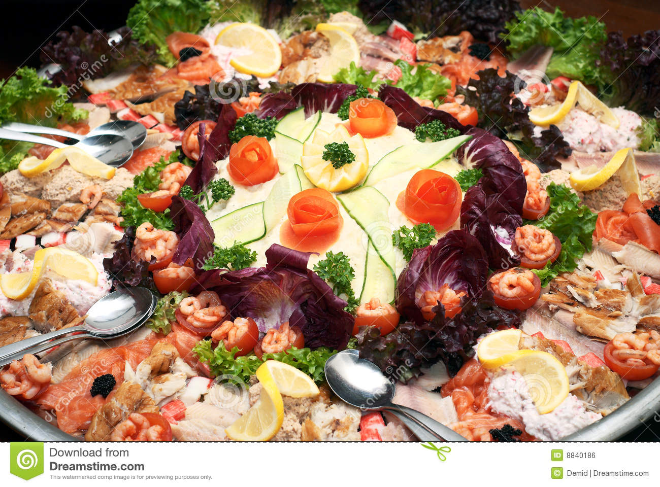 Plate With Food Royalty Free Stock Image Image 8840186
