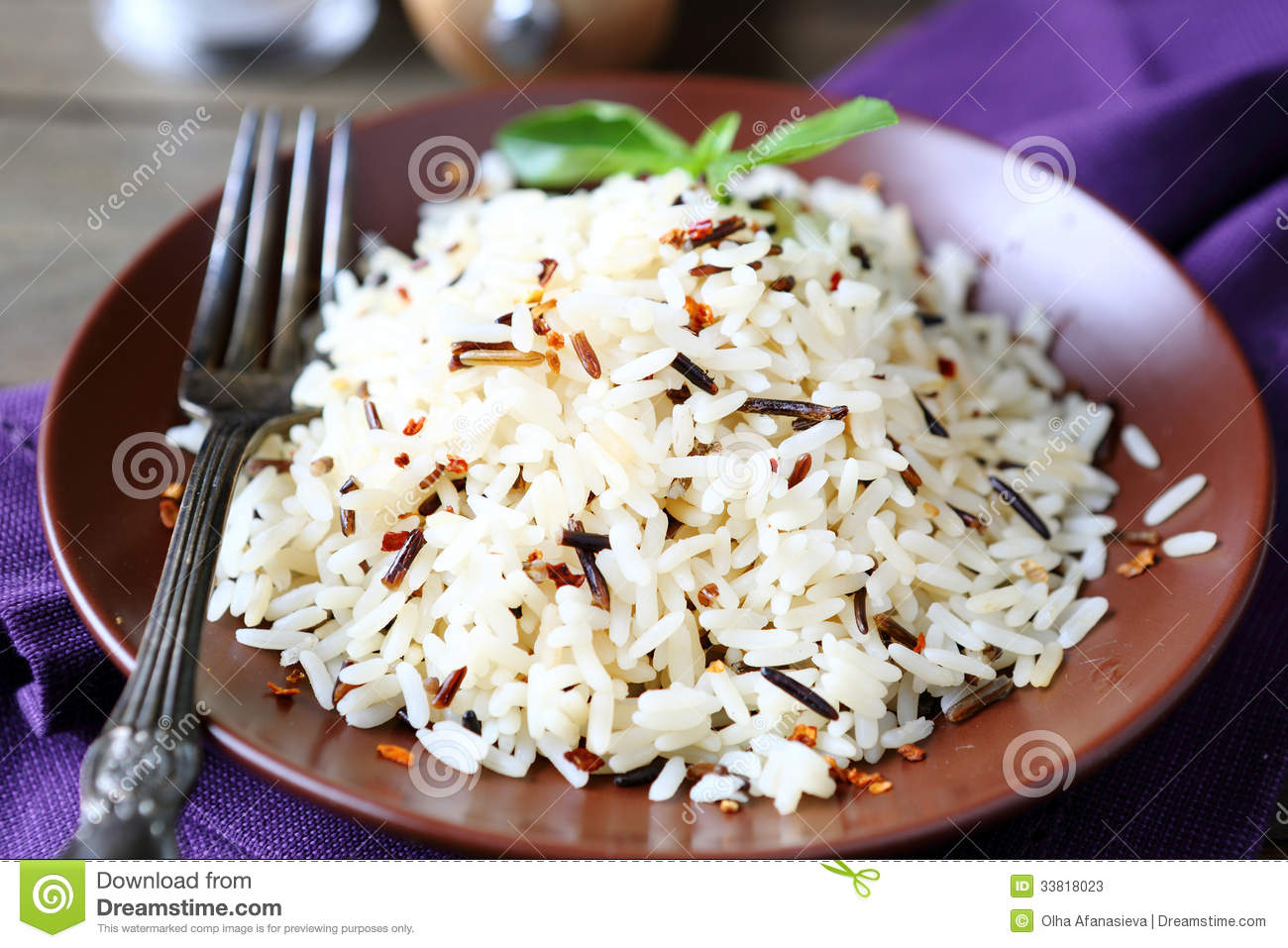 Pictures of cooked rice