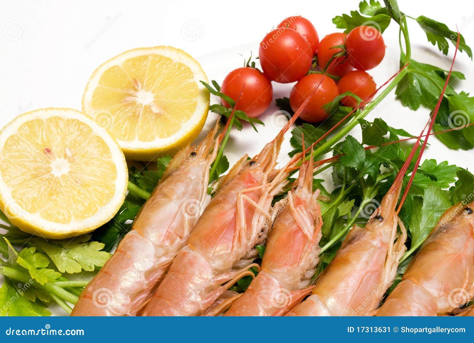 how to prepare raw prawns