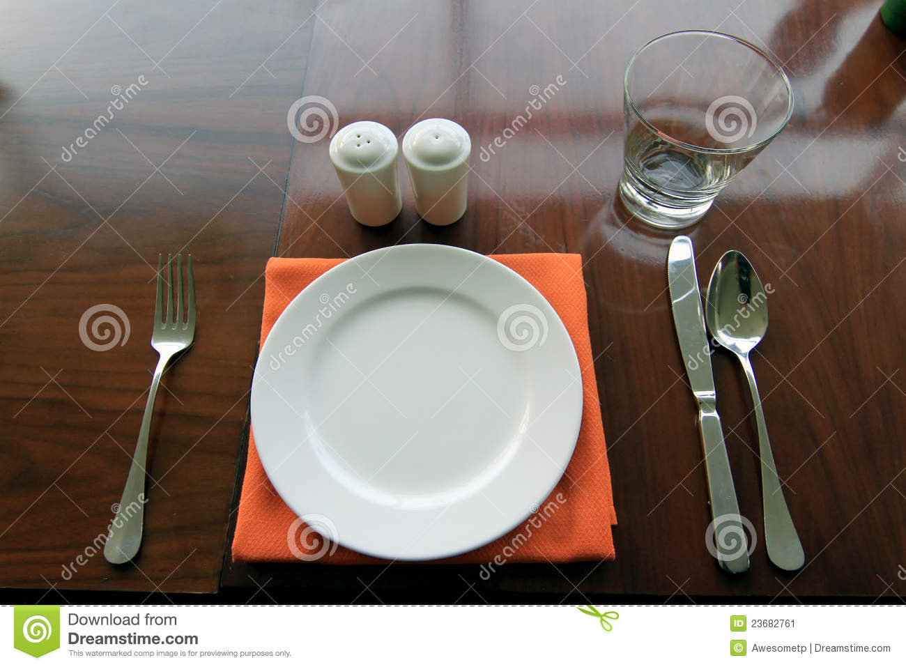Dining Glass Knife Plate Set Spoon Table