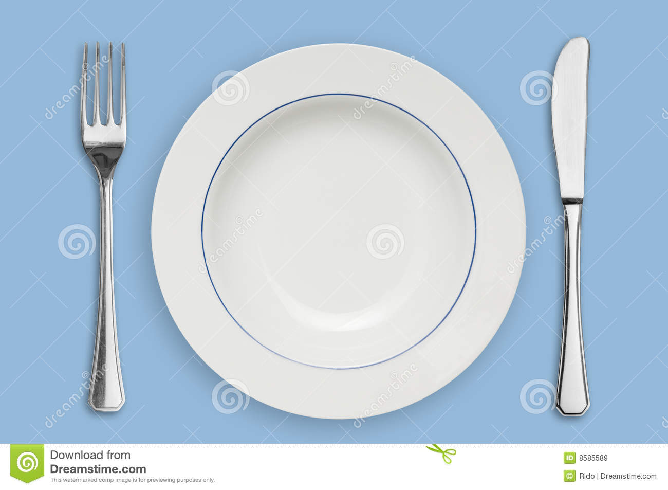 Plate And Silverware Royalty Free Stock Images Image  : plate silverware 8585589 from dreamstime.com size 1300 x 953 jpeg 77kB