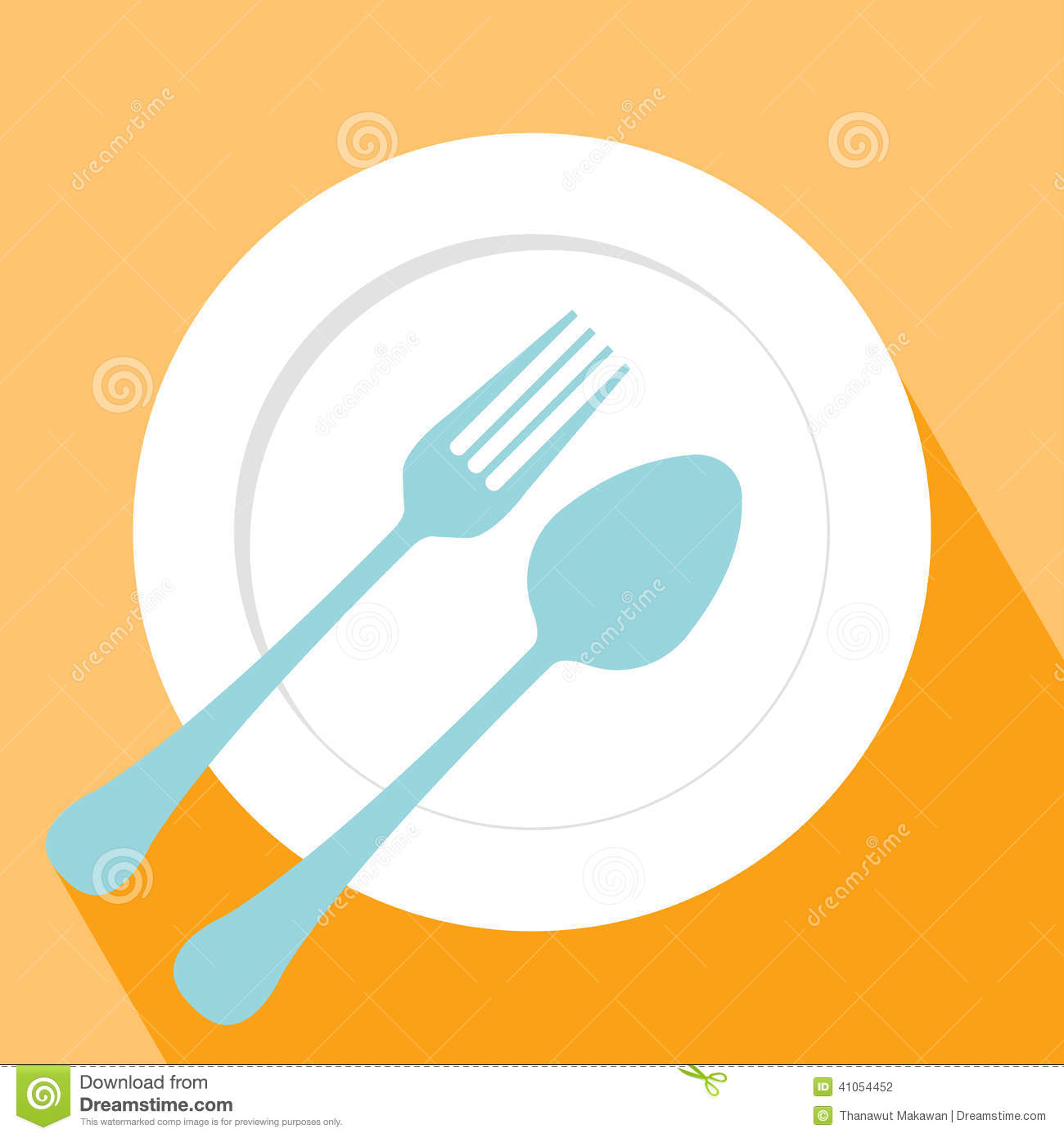 Plate Spoon And Fork Icon Stock Vector Image 41054452 : plate spoon fork icon symbol elements design 41054452 from dreamstime.com size 1300 x 1390 jpeg 91kB