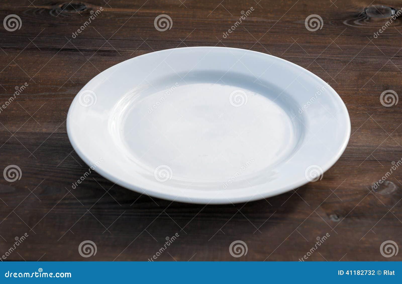 Plate white